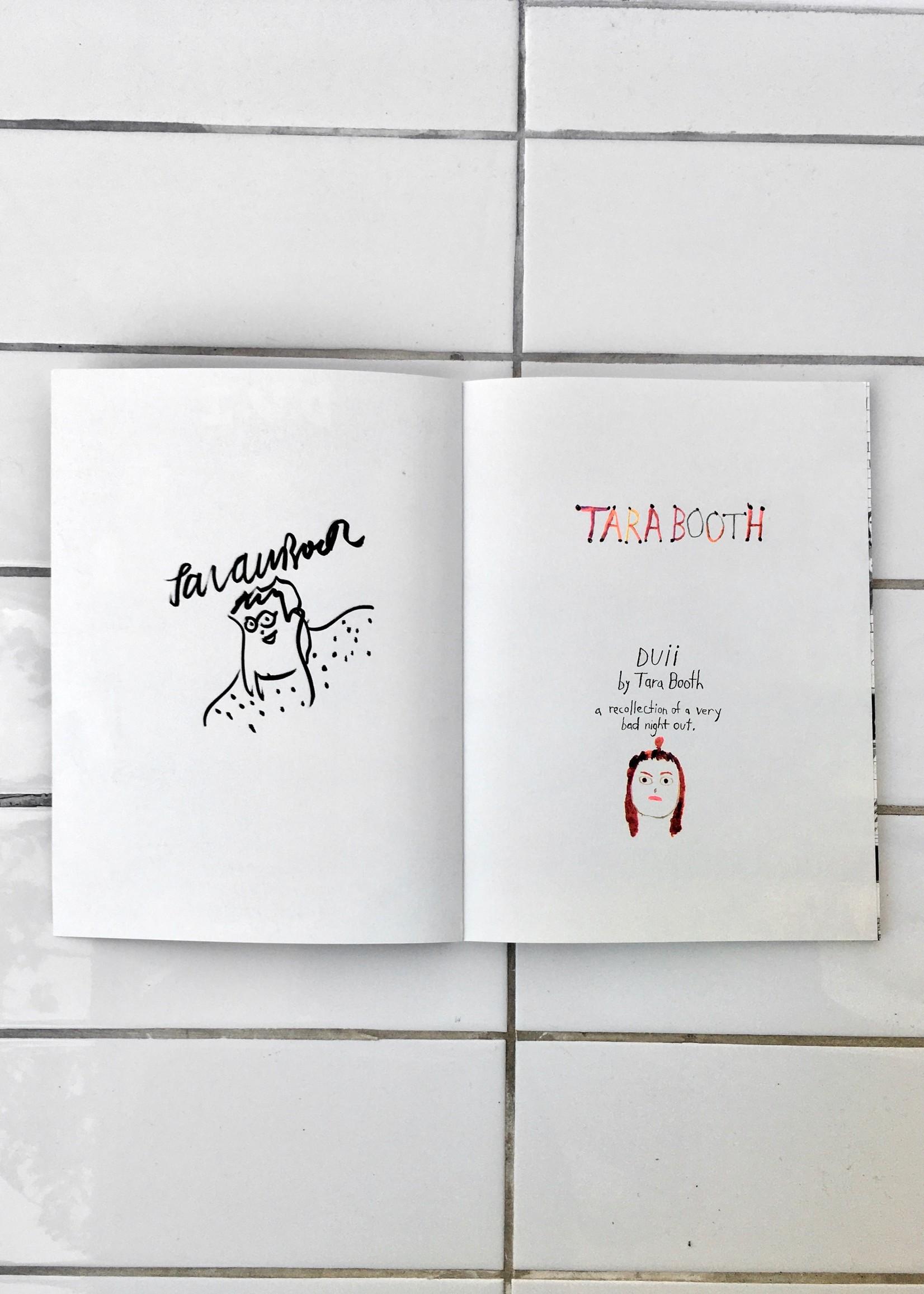 """Tara Booth Book """"D.U.I."""""""