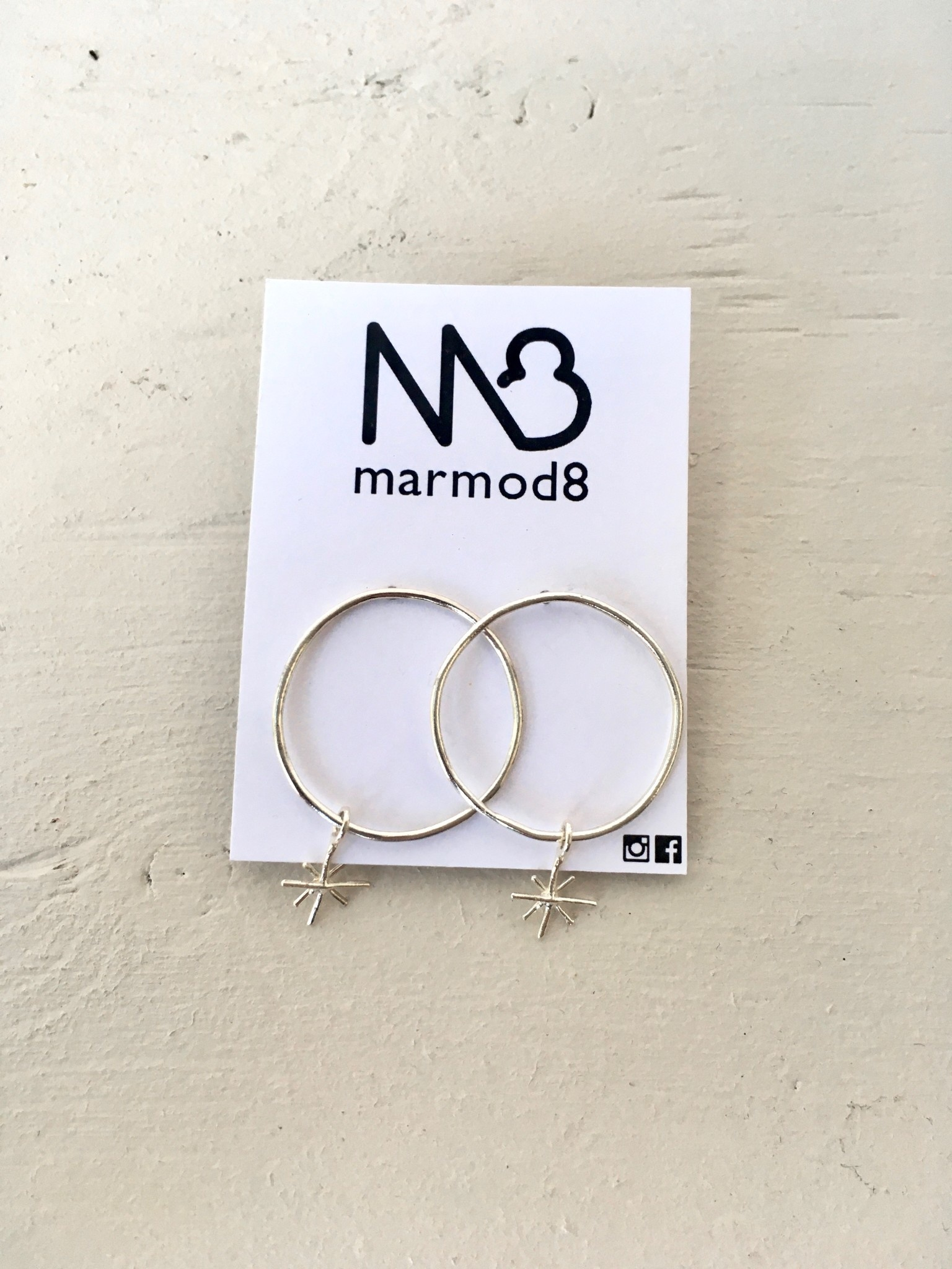 """Marmod8 Boucles d'Oreille Argent """"Vega"""""""