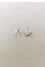 Marmod8 Silver Earrings Stars