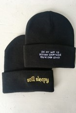 Stay Home Club Tuque brodé