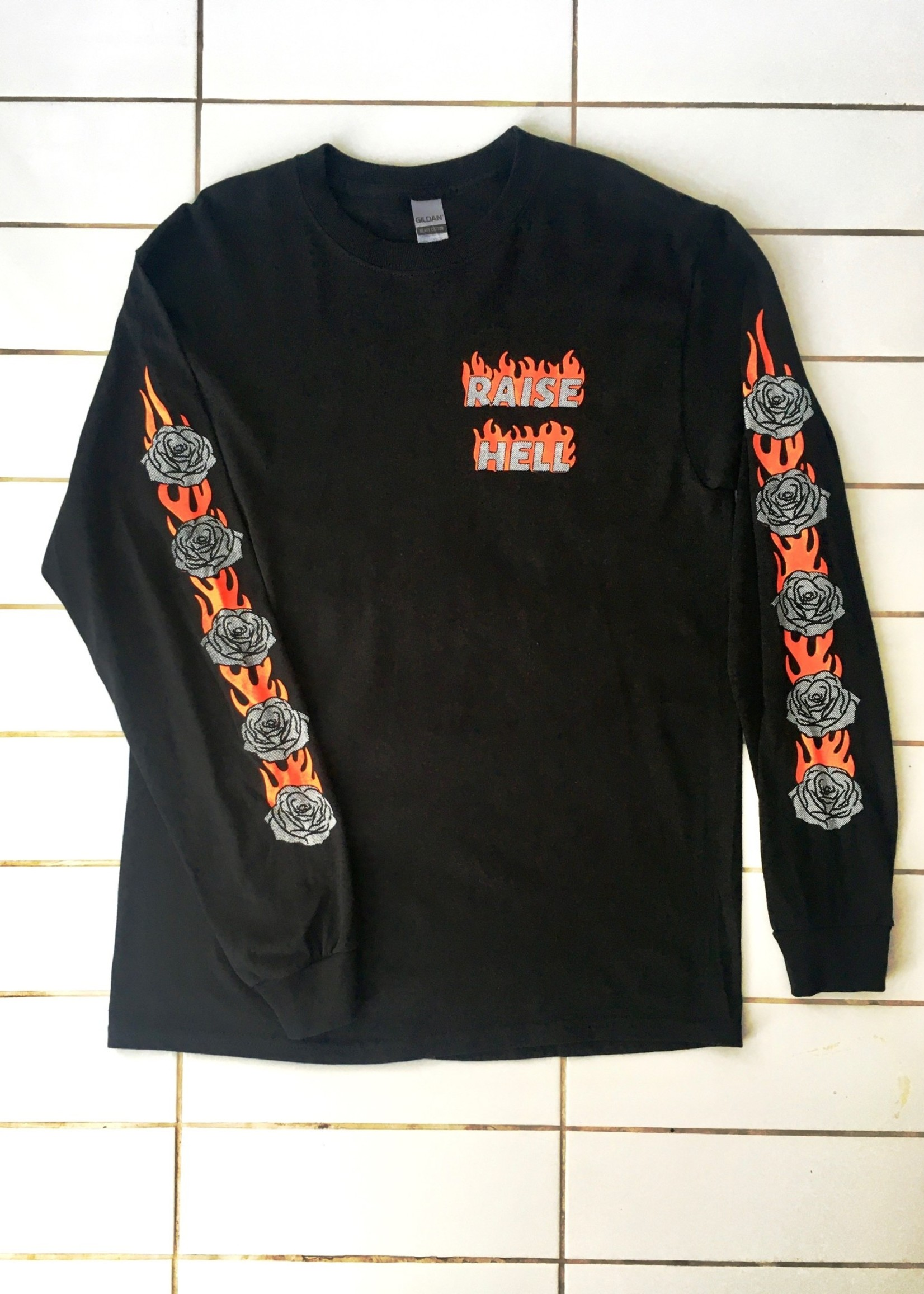 """Rosehound Apparel Manches longues """"Raise Hell"""""""