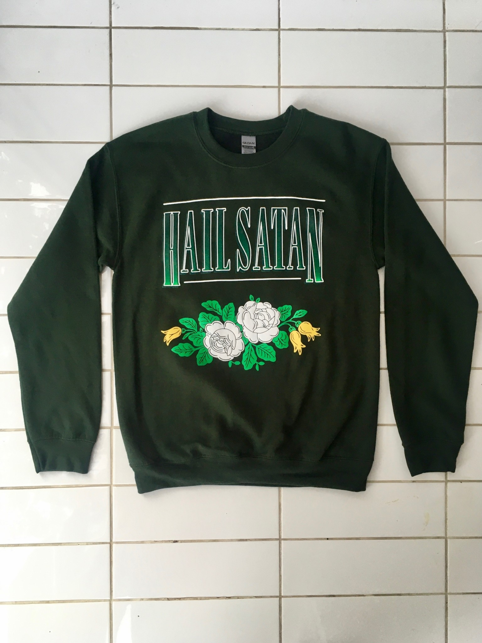 Rosehound Apparel Hail Satan Sweater