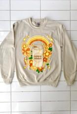 Rosehound Apparel Beer Flower Sweatershirt