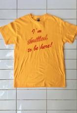 "Rosehound Apparel T-shirt ""I'm Thrilled"""