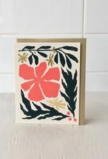 Paperole Carte de souhait poinsettia de  Paperole