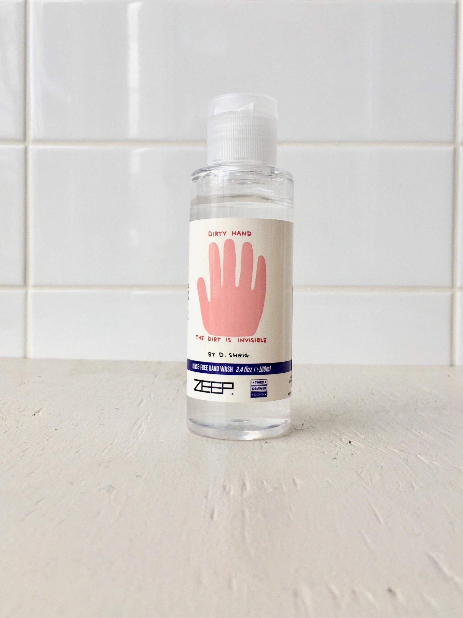 Third Drawer Down Hand Sanitizer
