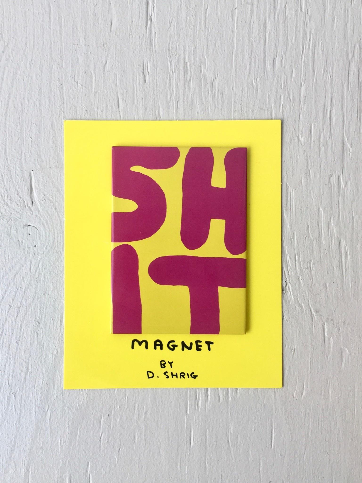 Third Drawer Down Art Magnets