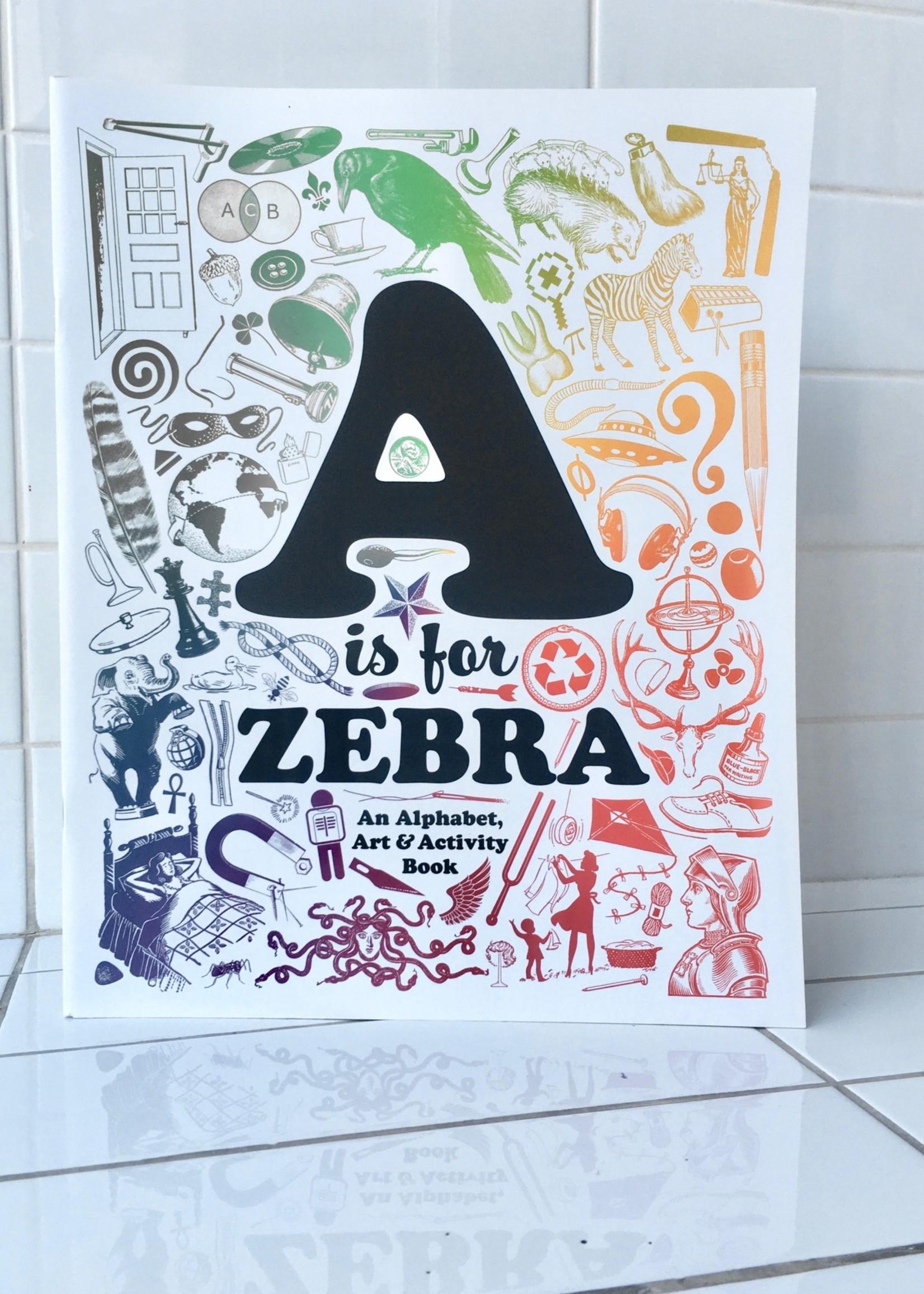 Sean Tejaratchi Alphabet Activity Art Book