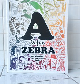 Sean Tejaratchi Alphabet Activity Art Book