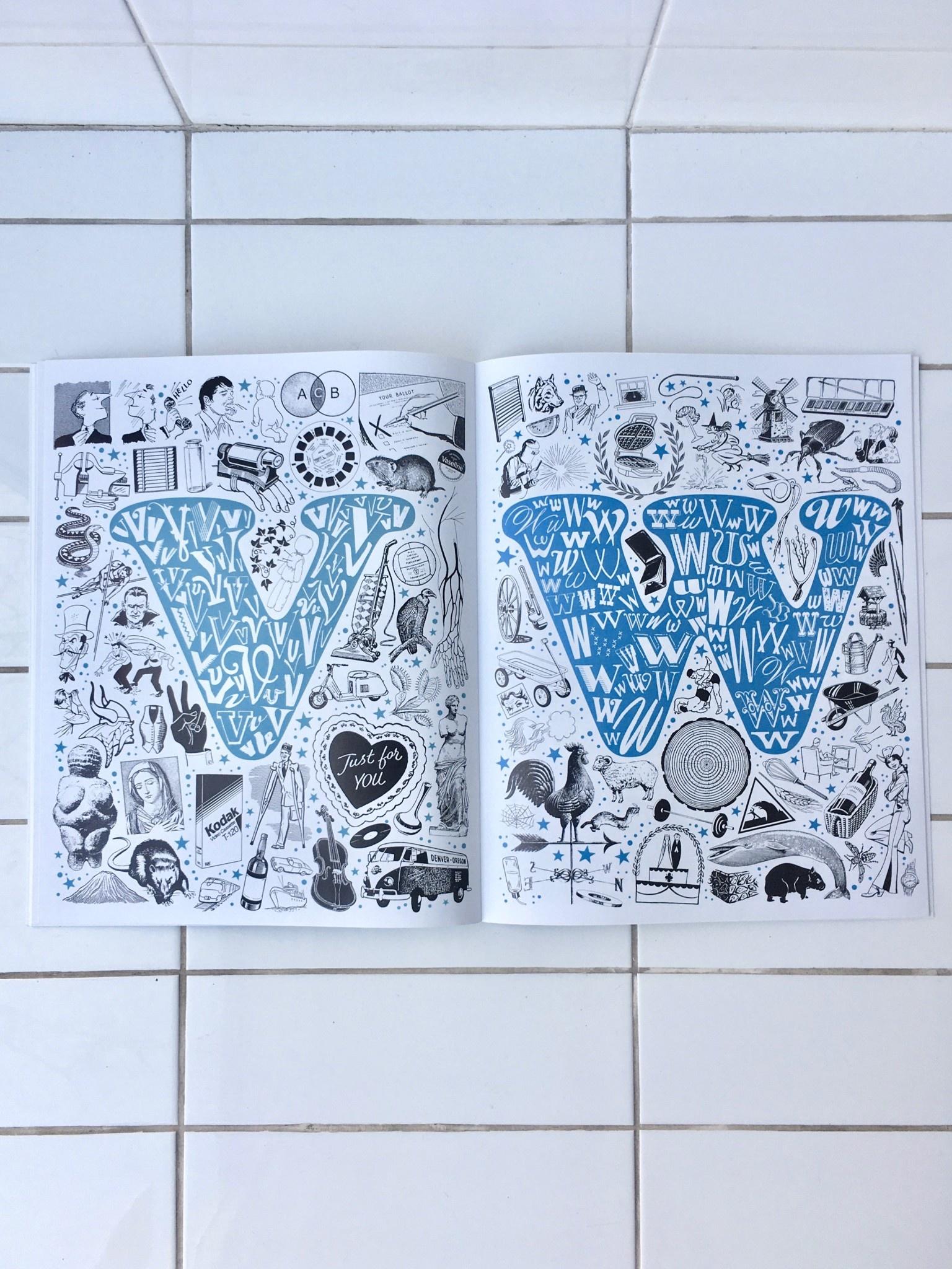 Sean Tejaratchi Livre d'art alphabétique
