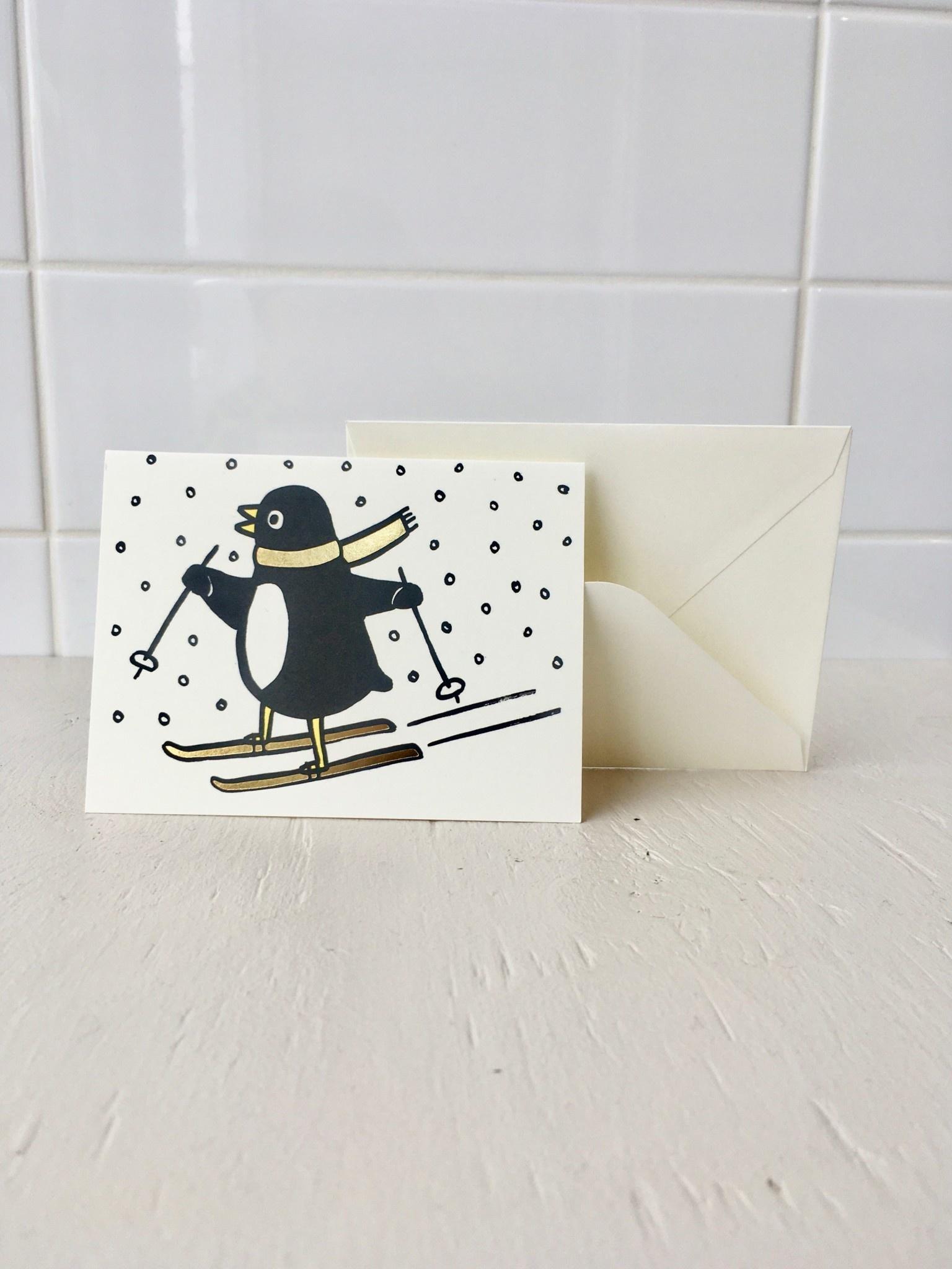 Wrap Stationery Carte de souhait saisonnières mini