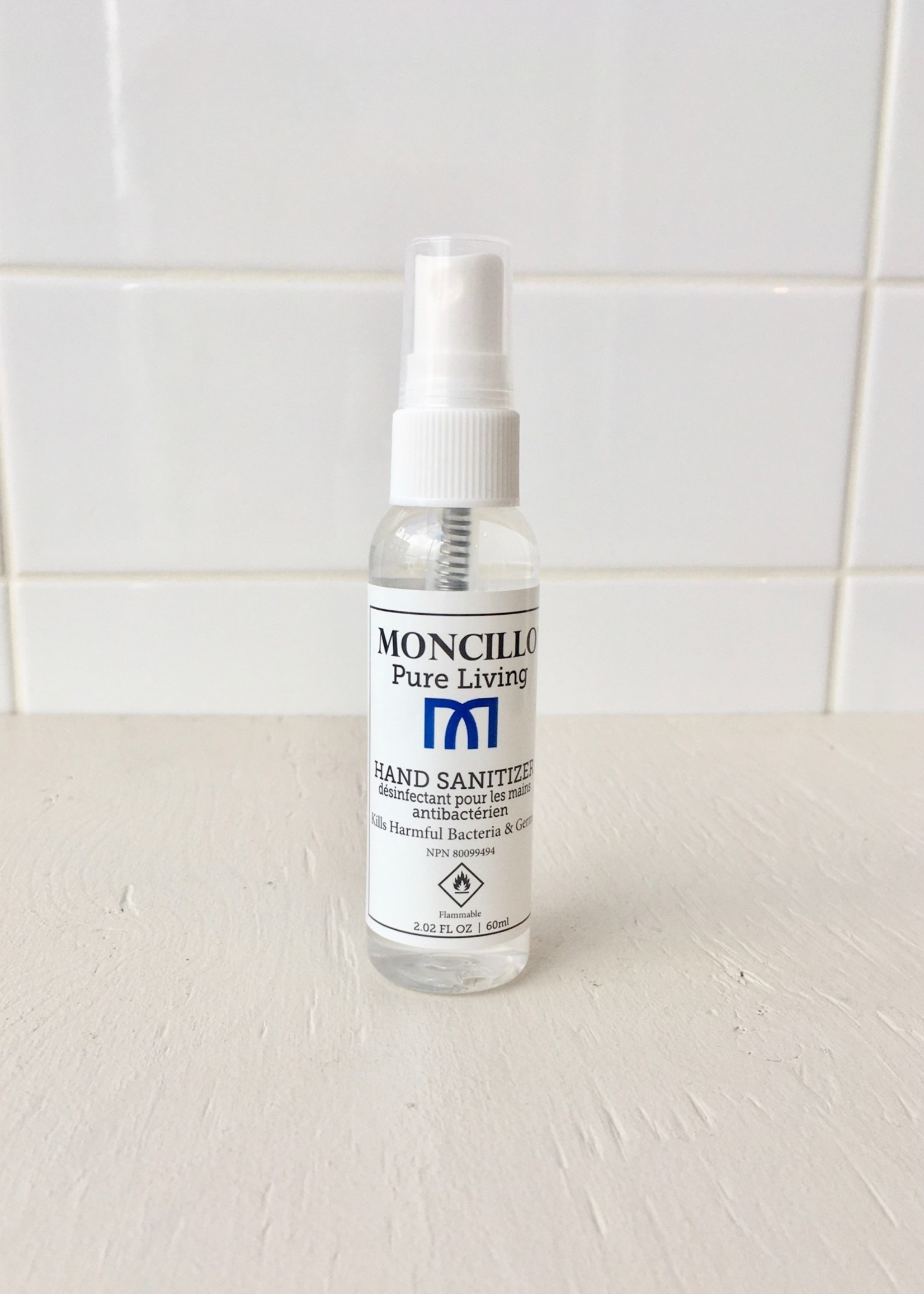 Moncillo Désinfectant pour mains 60ml