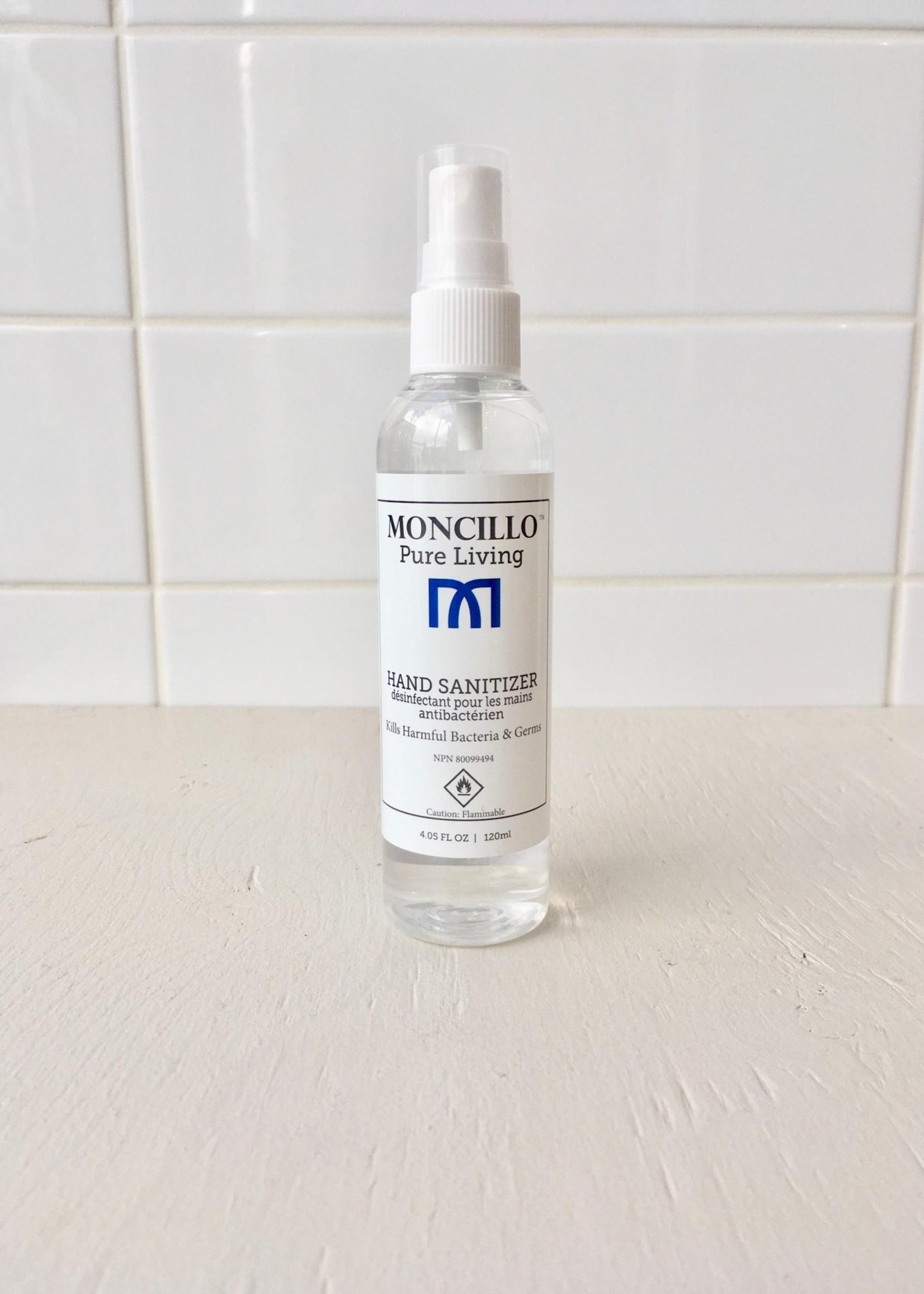 Moncillo 4oz Spray Hand Sanitizer