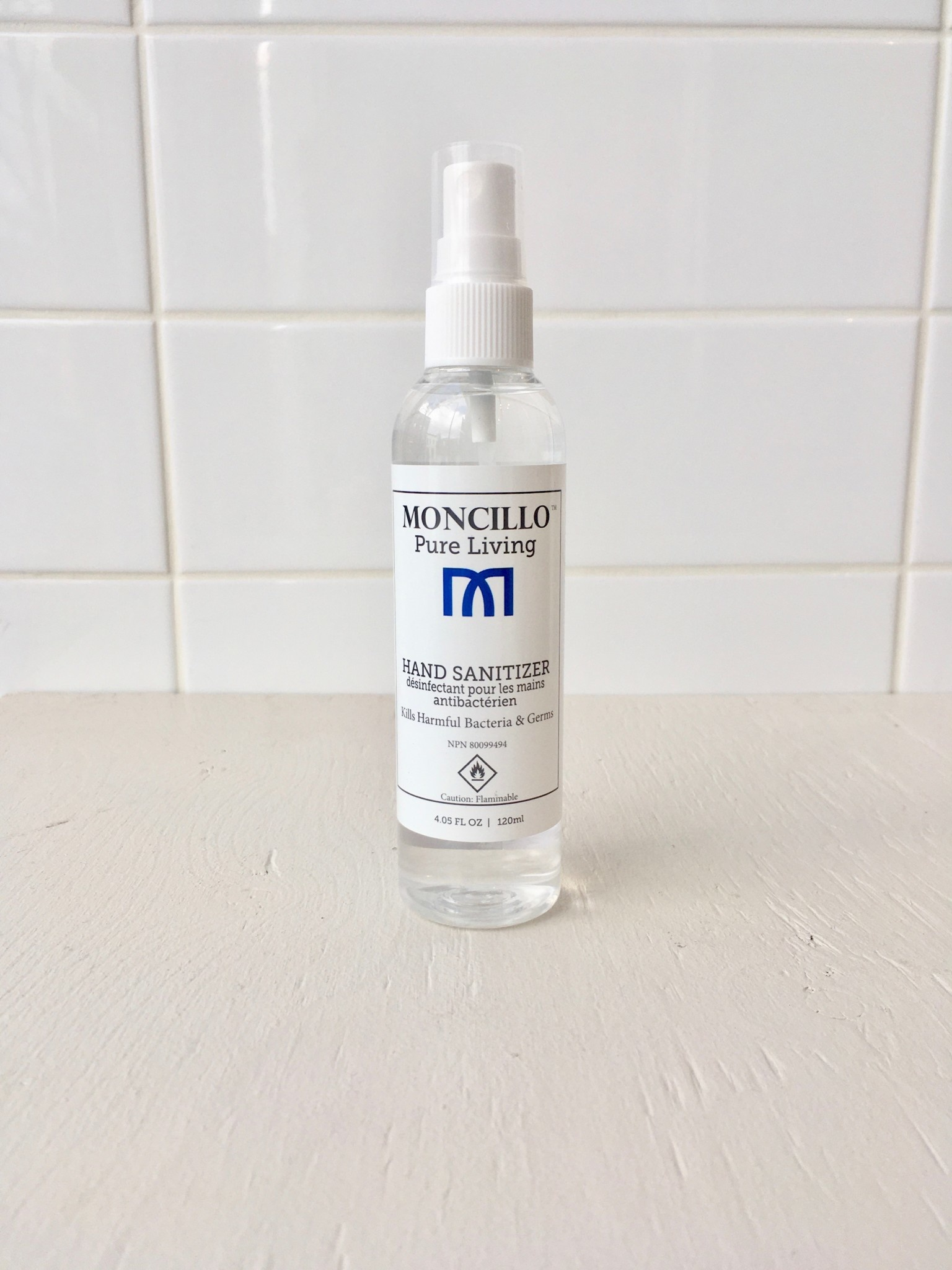 Moncillo 120ml Spray Hand Sanitizer