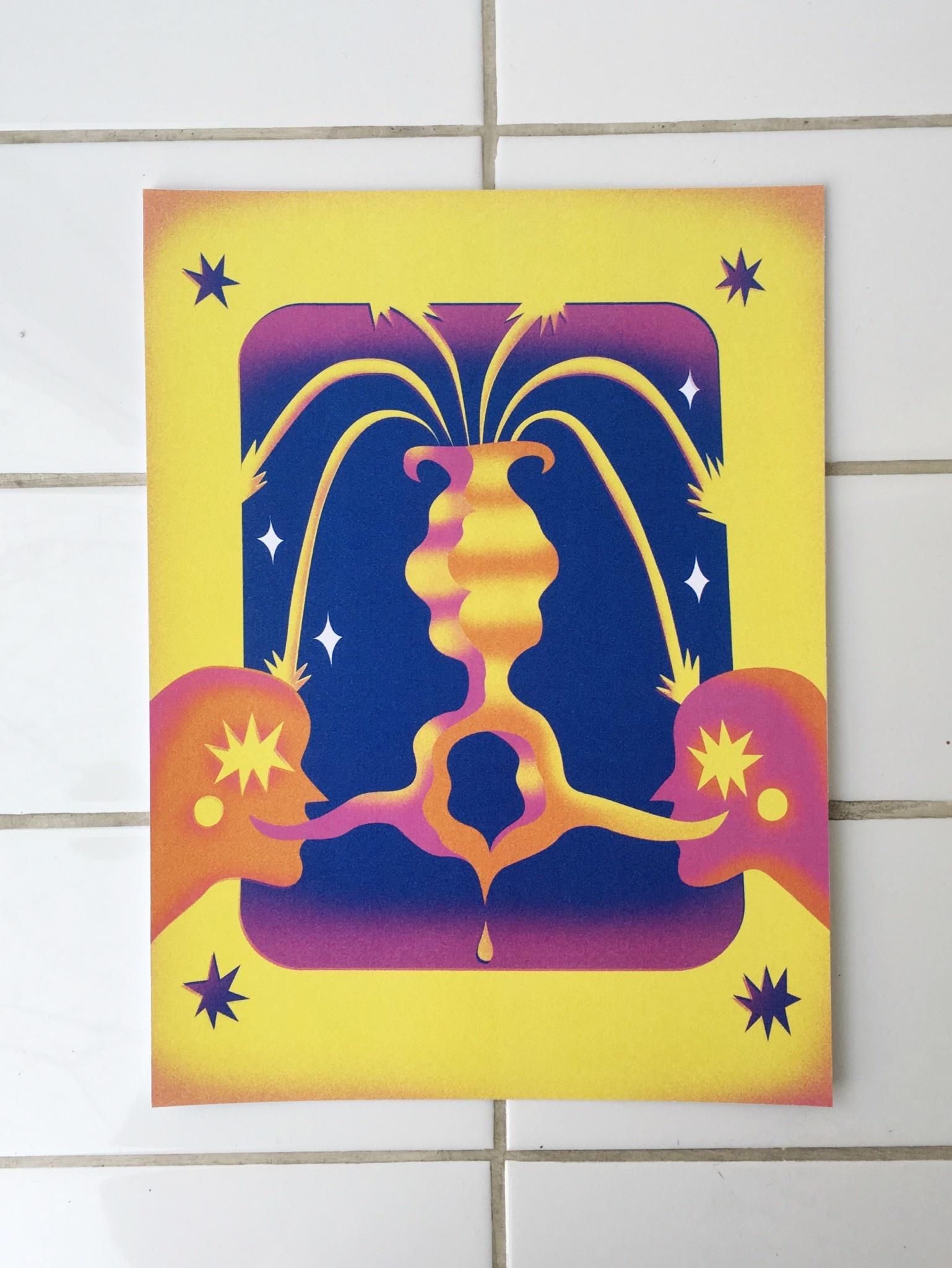 Isadora-Ayesha Lima Affichette d'Isadora-Ayesha Lima