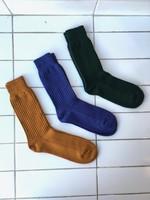 Rototo Chaussettes en coton gaufré