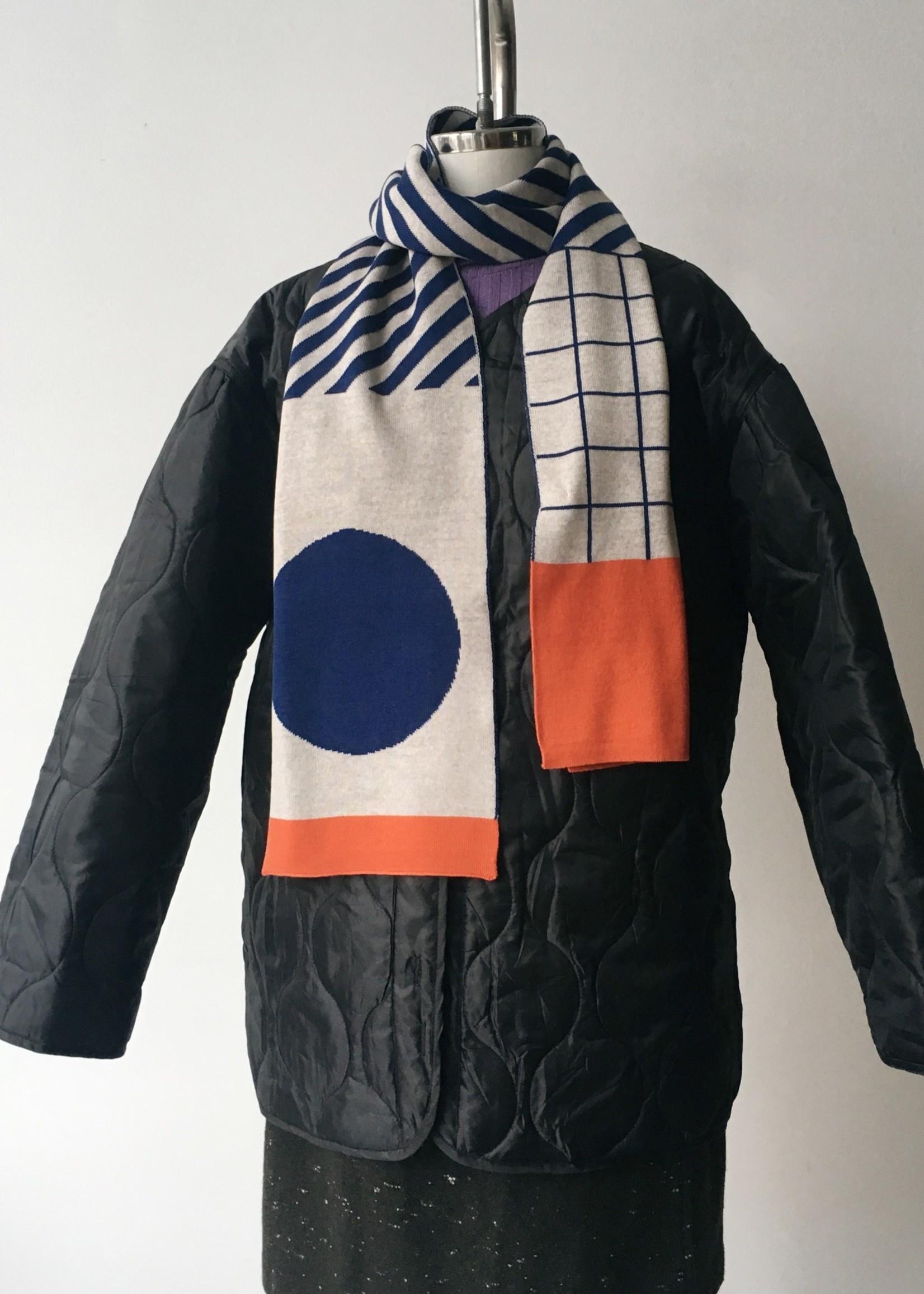 "Olula Écharpe ""Tokyo"" en laine mérinos"