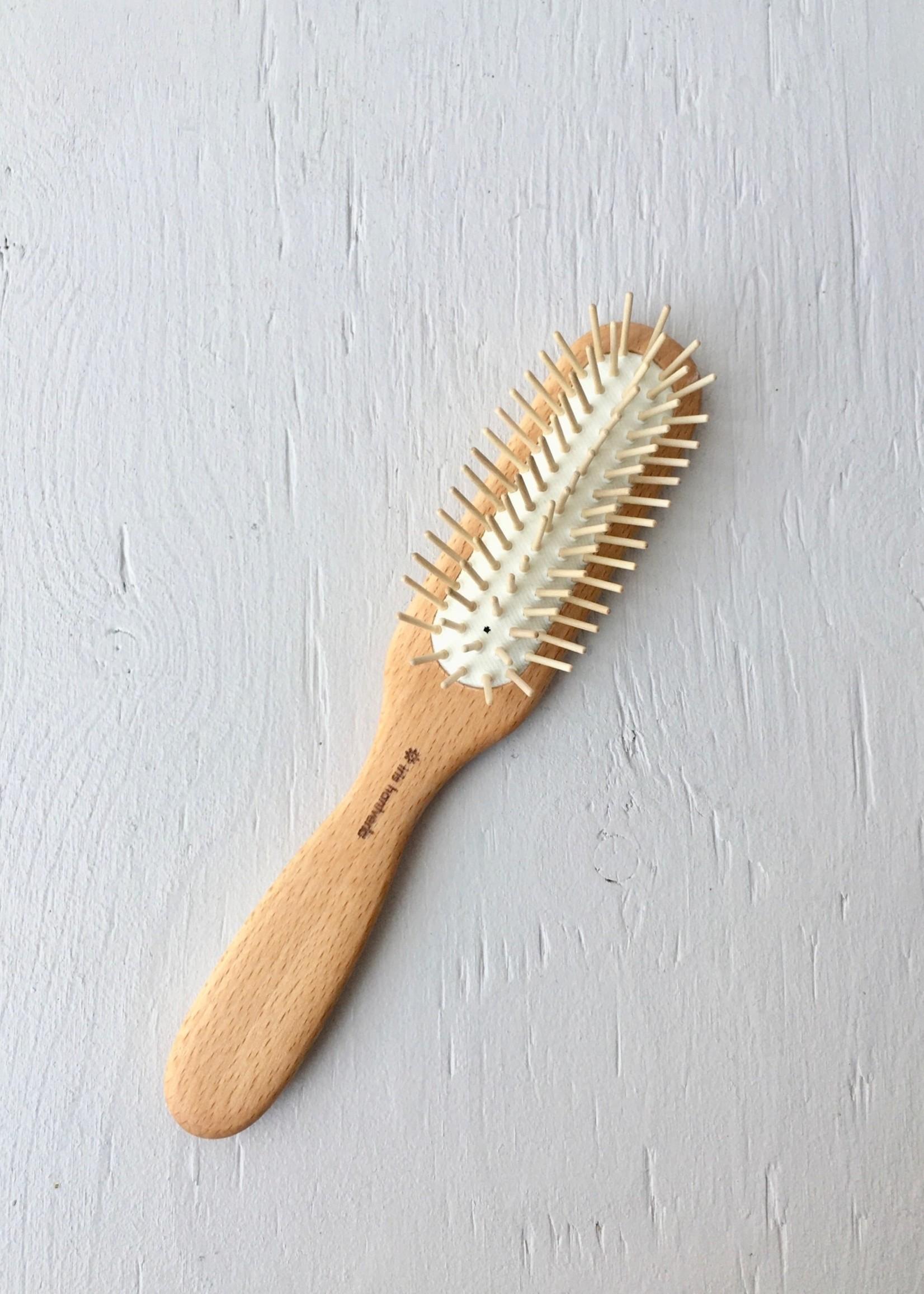 Iris Hantverk Brosse à cheveux en bois