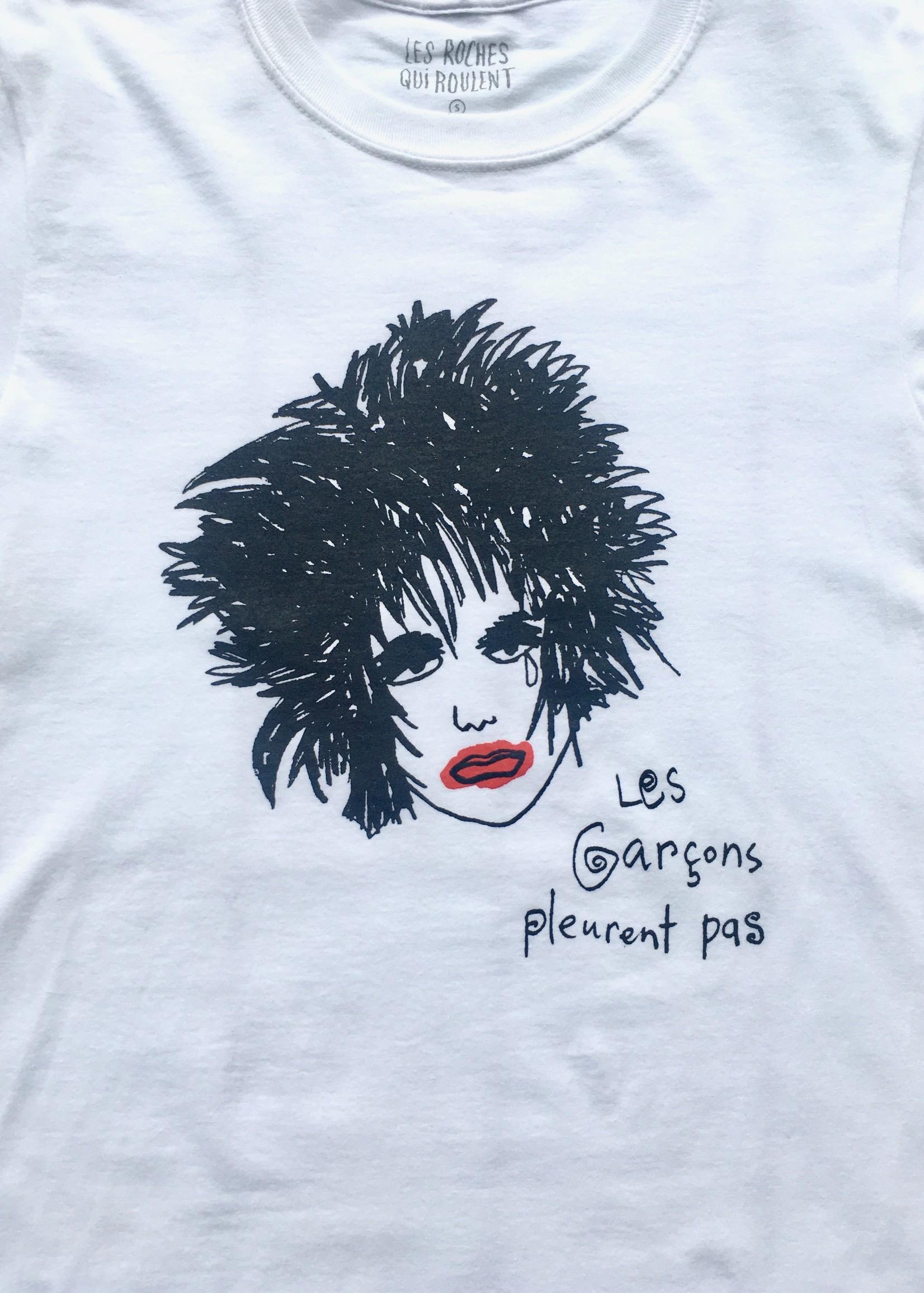 Les Roches Qui Roulent  T-shirt Les Garçons Pleurent Pas