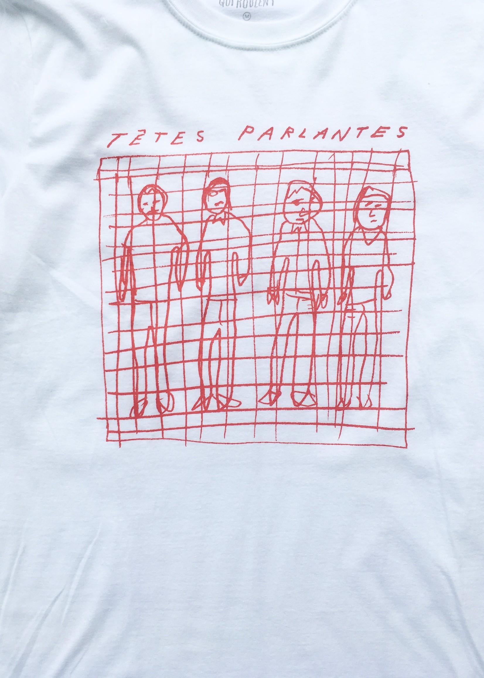 Les Roches Qui Roulent  T-shirt Tetes Parlantes