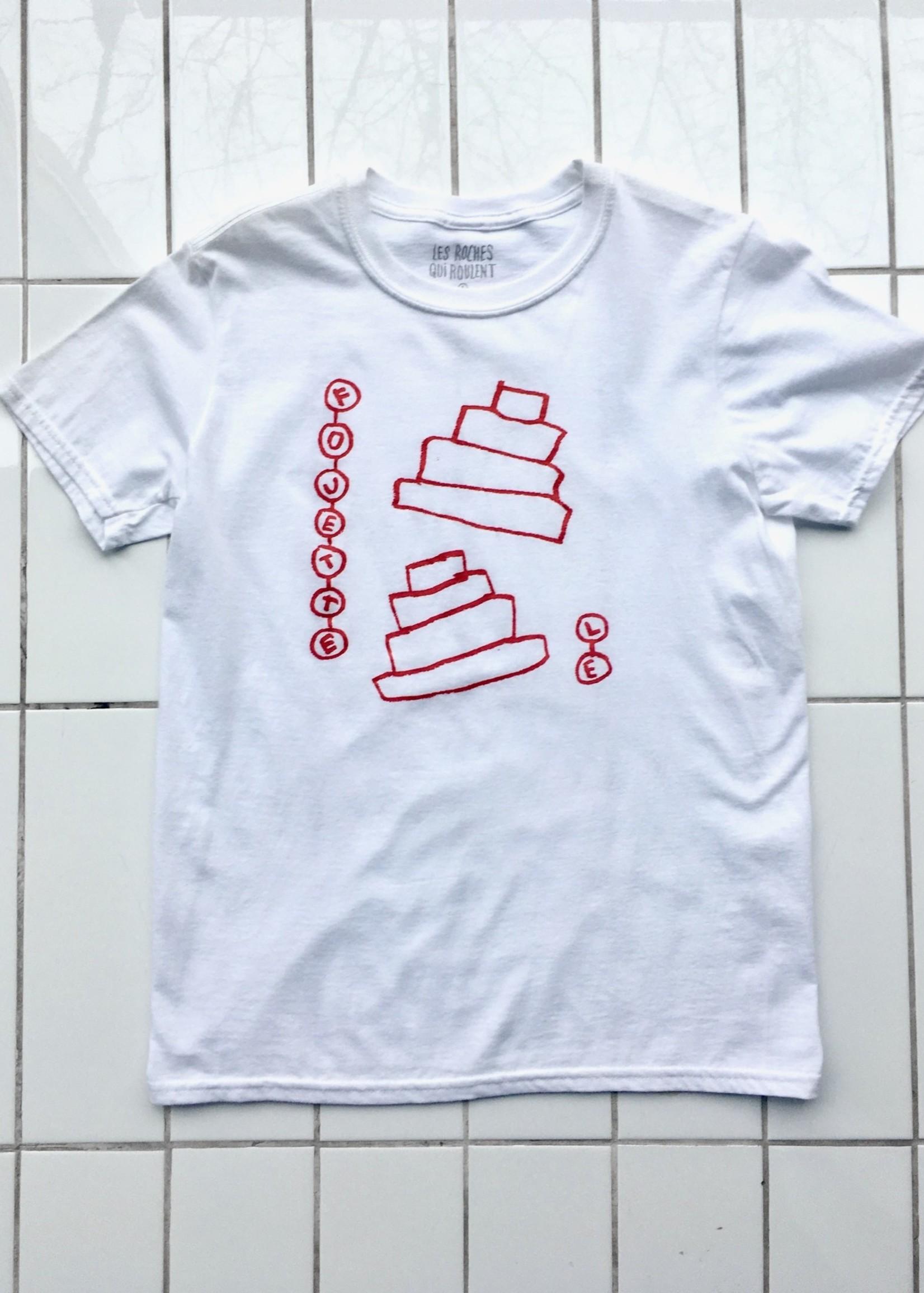 Les Roches Qui Roulent T-shirt Fouette-le