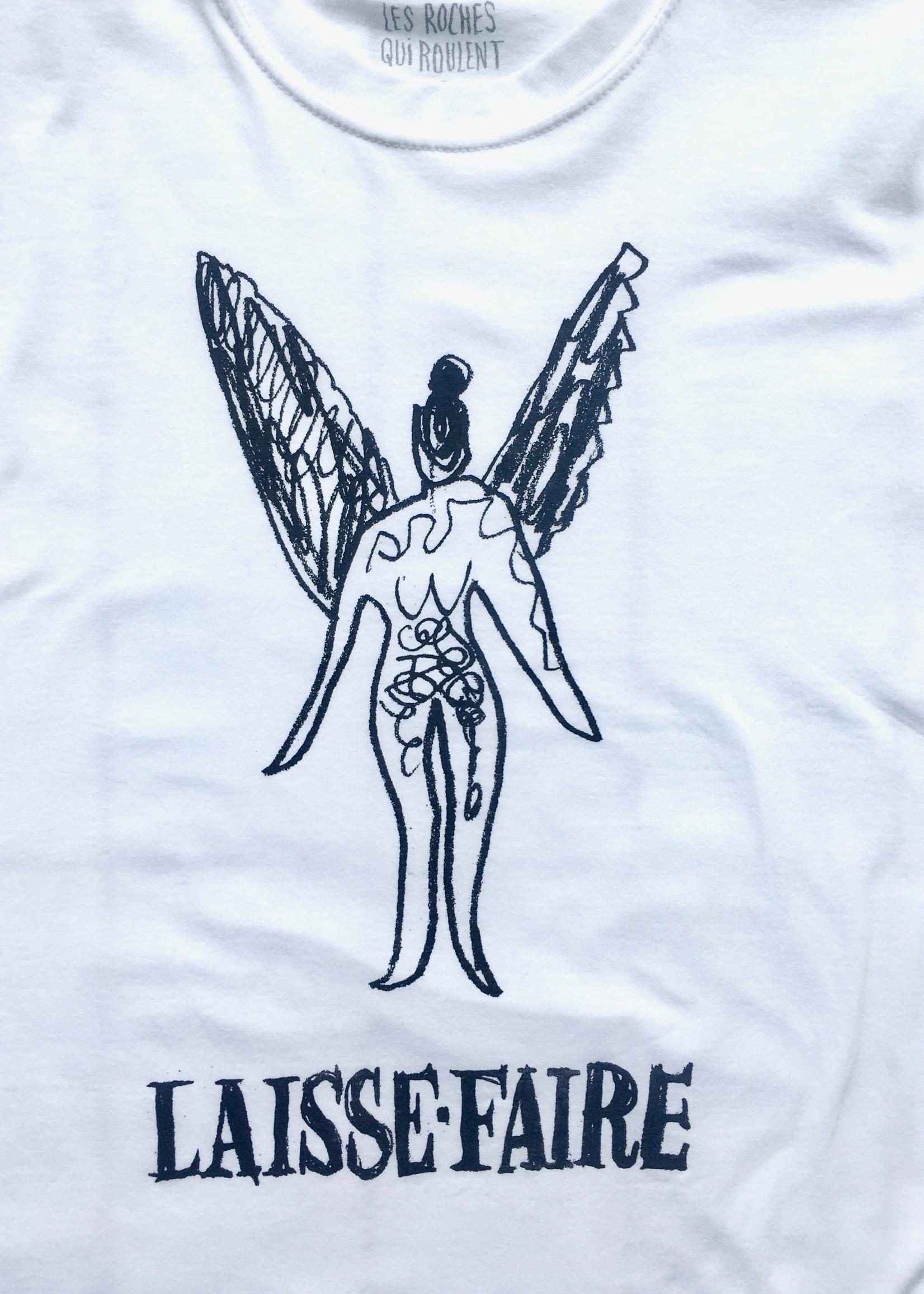 Les Roches Qui Roulent Laisse-Faire T-shirt