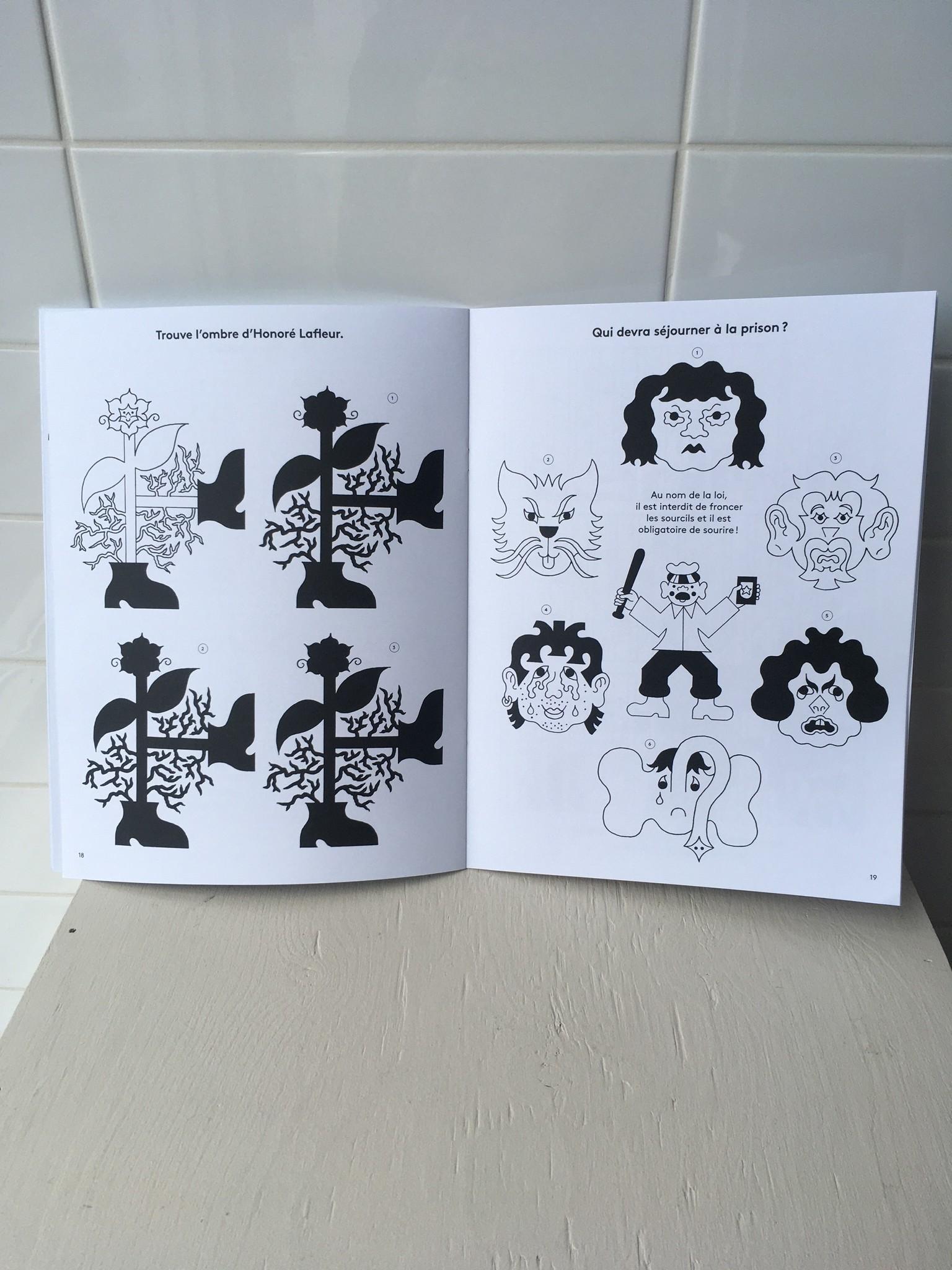 Paperole Activity Book Aire de Jeux