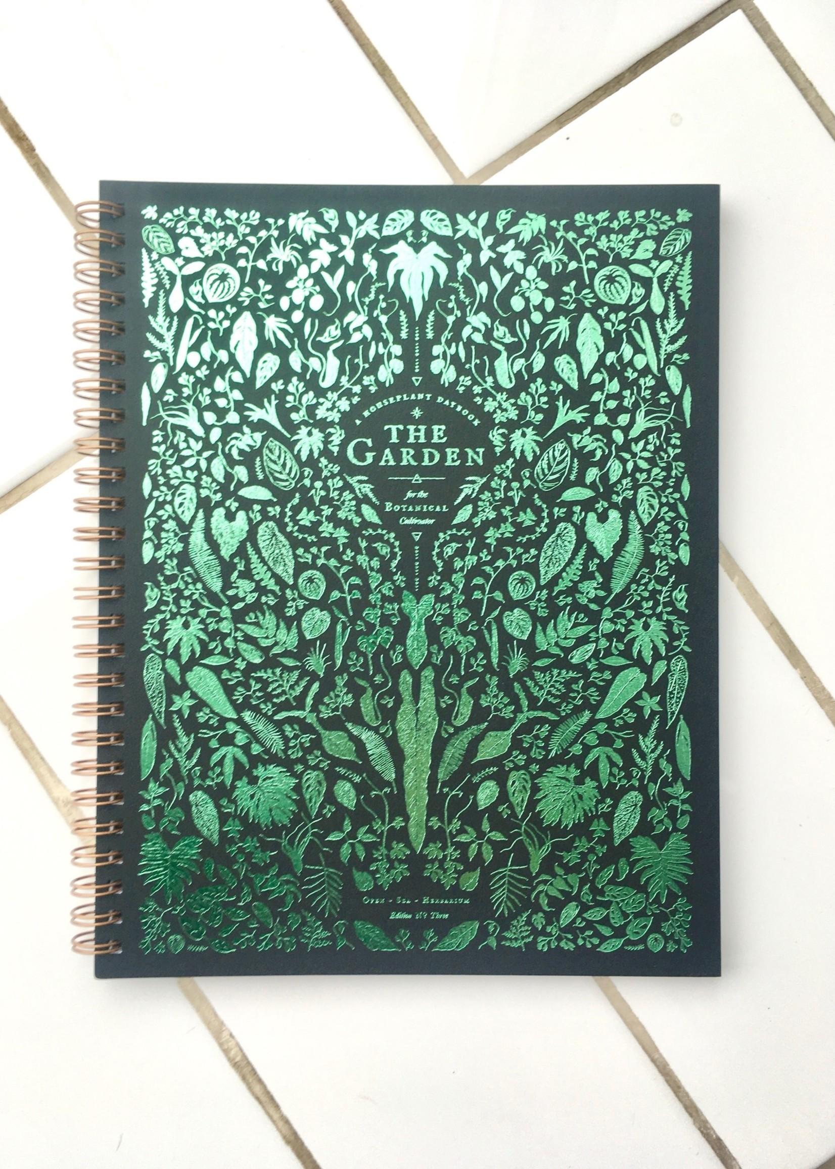 """Open Sea Design Cahier de note """"The Garden"""""""