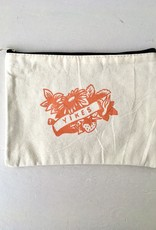 Stay Home Club Yikes Zipper Pouch