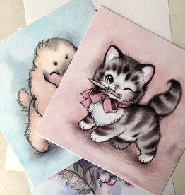 Forever Softcore Affichette d'animaux mignons - 21.6cm x 21.6cm