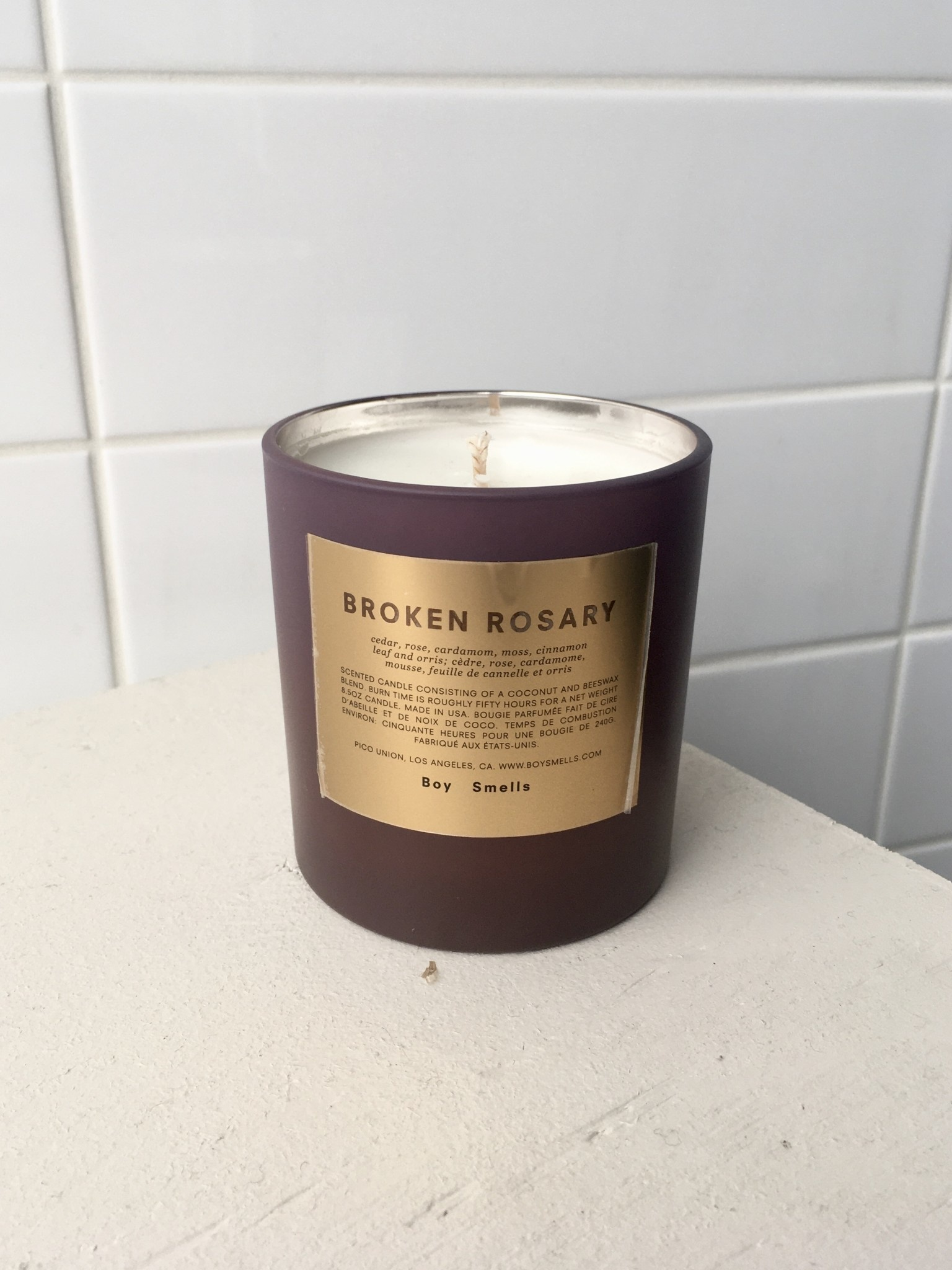 Boy Smells Rituals Candle