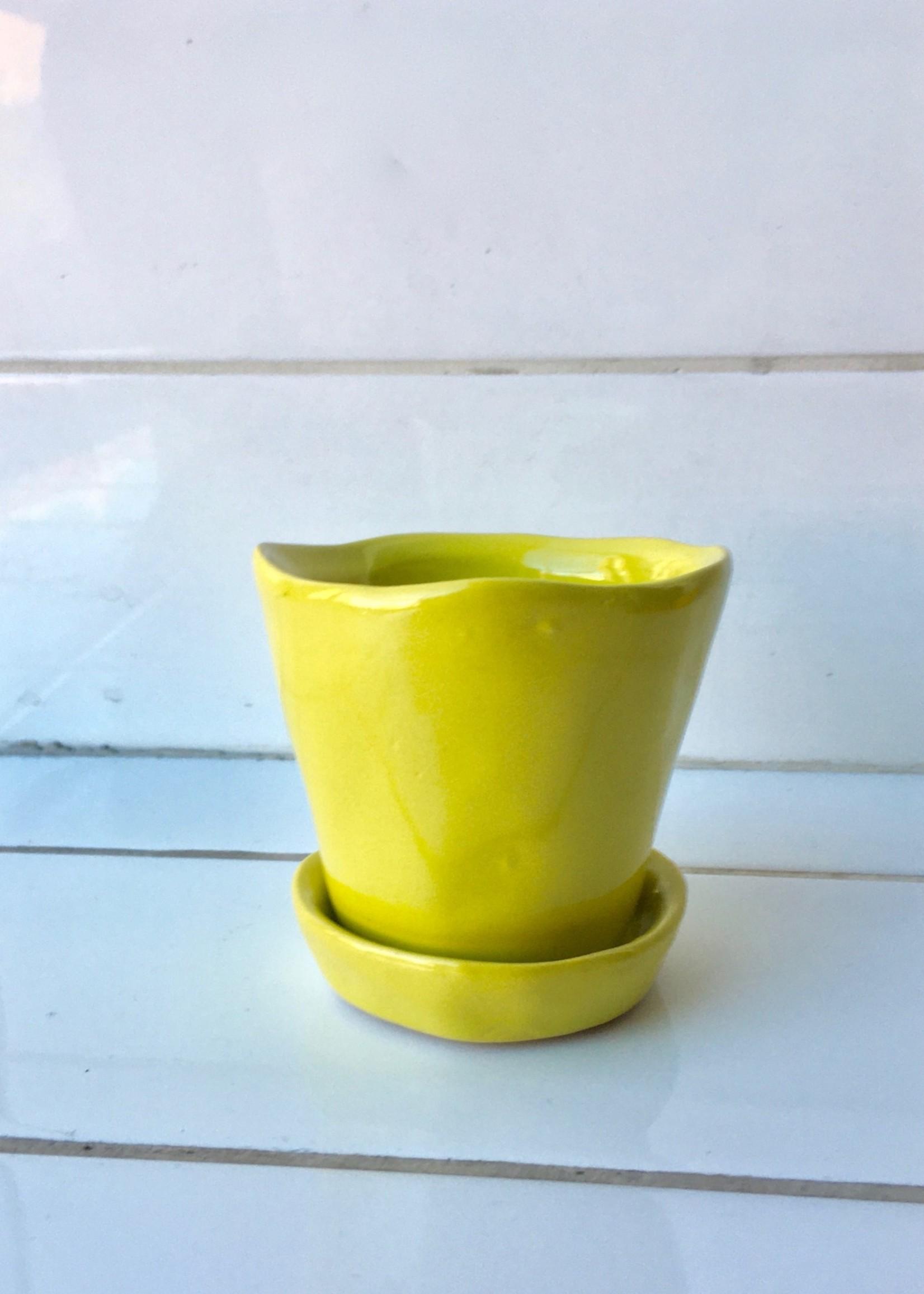 """Chive """"Tika"""" petit pots pour plantes"""