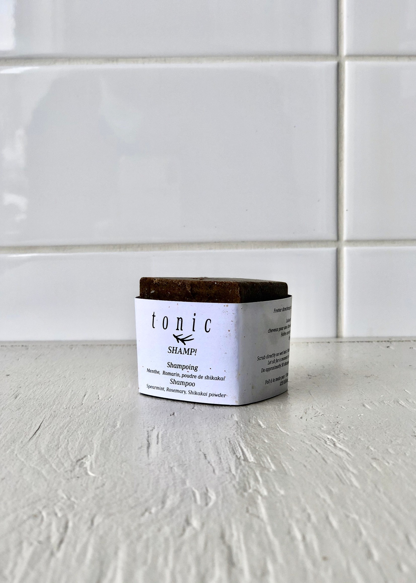 Tonic Tonic Shampoo Bar