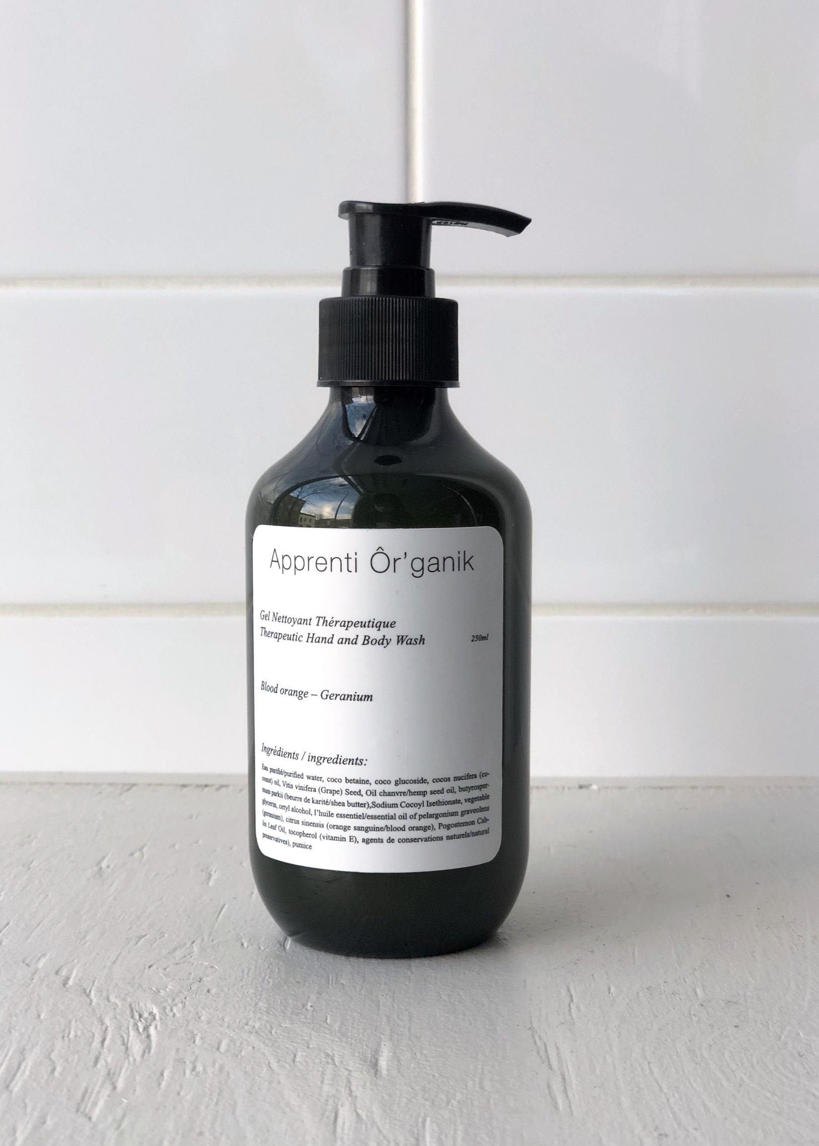 Apprenti Organik Therapeutic Hand and Body Washes