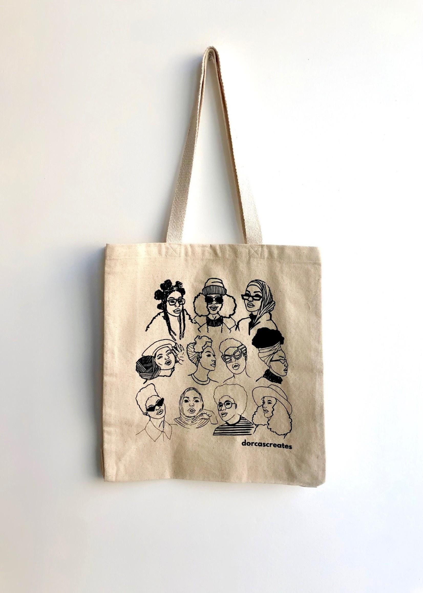 Dorcas Creates Autumn Babes Tote Bag