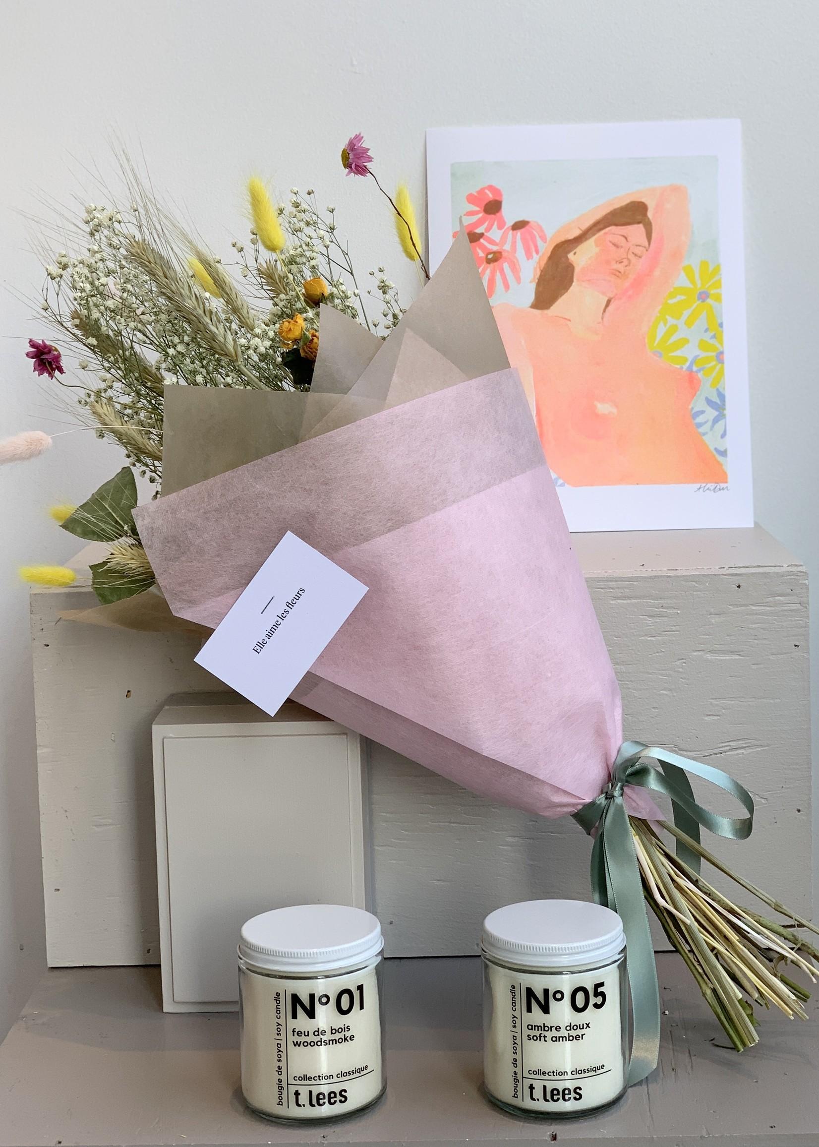 Elle Aime Les Fleurs Dried Flower Bouquet