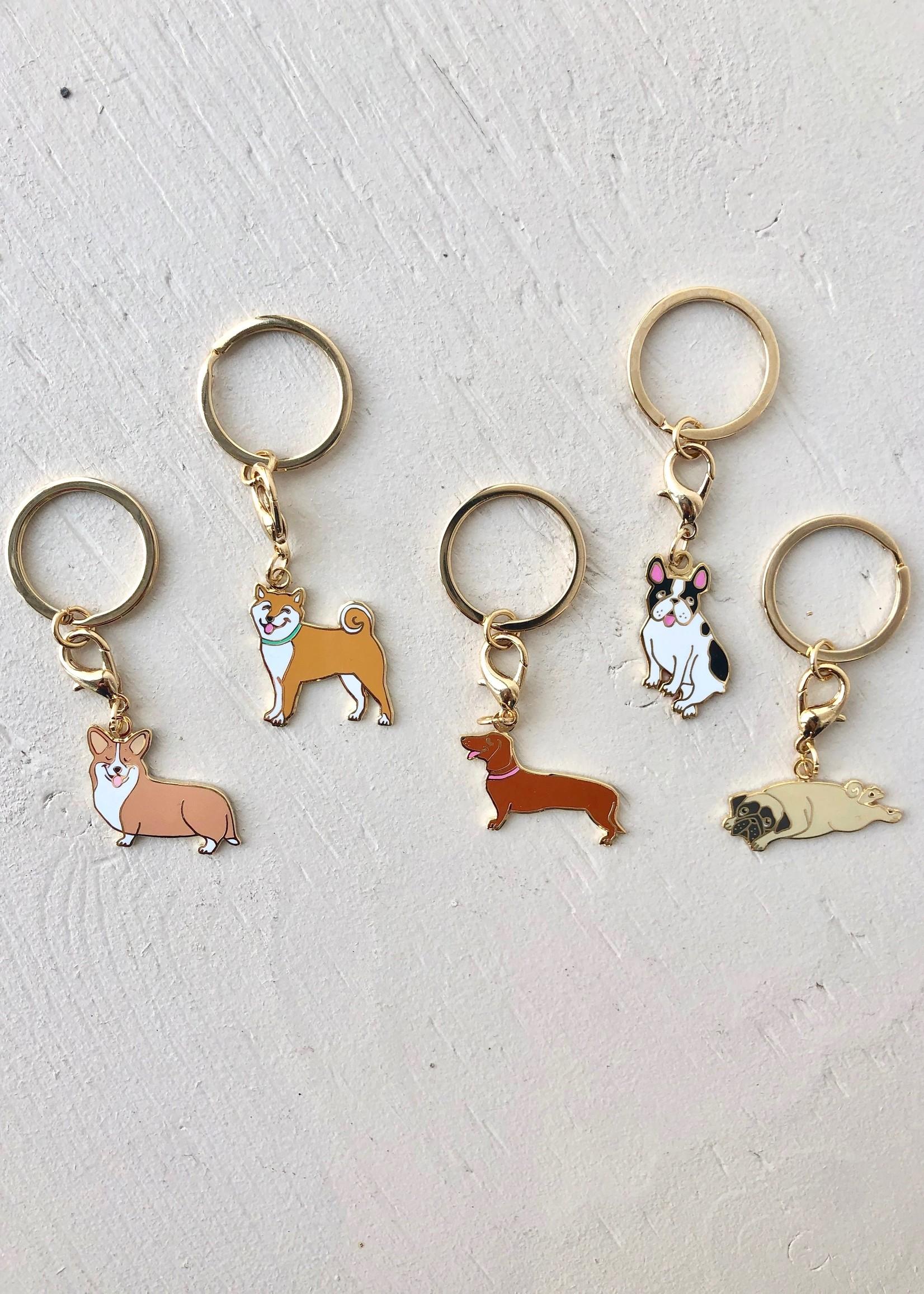 Coucou Suzette Dog Key Chain