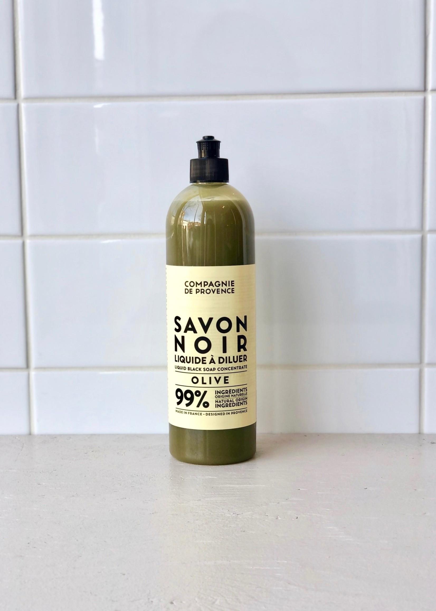 Compagnie de Provence Liquid Black Soap for the Home
