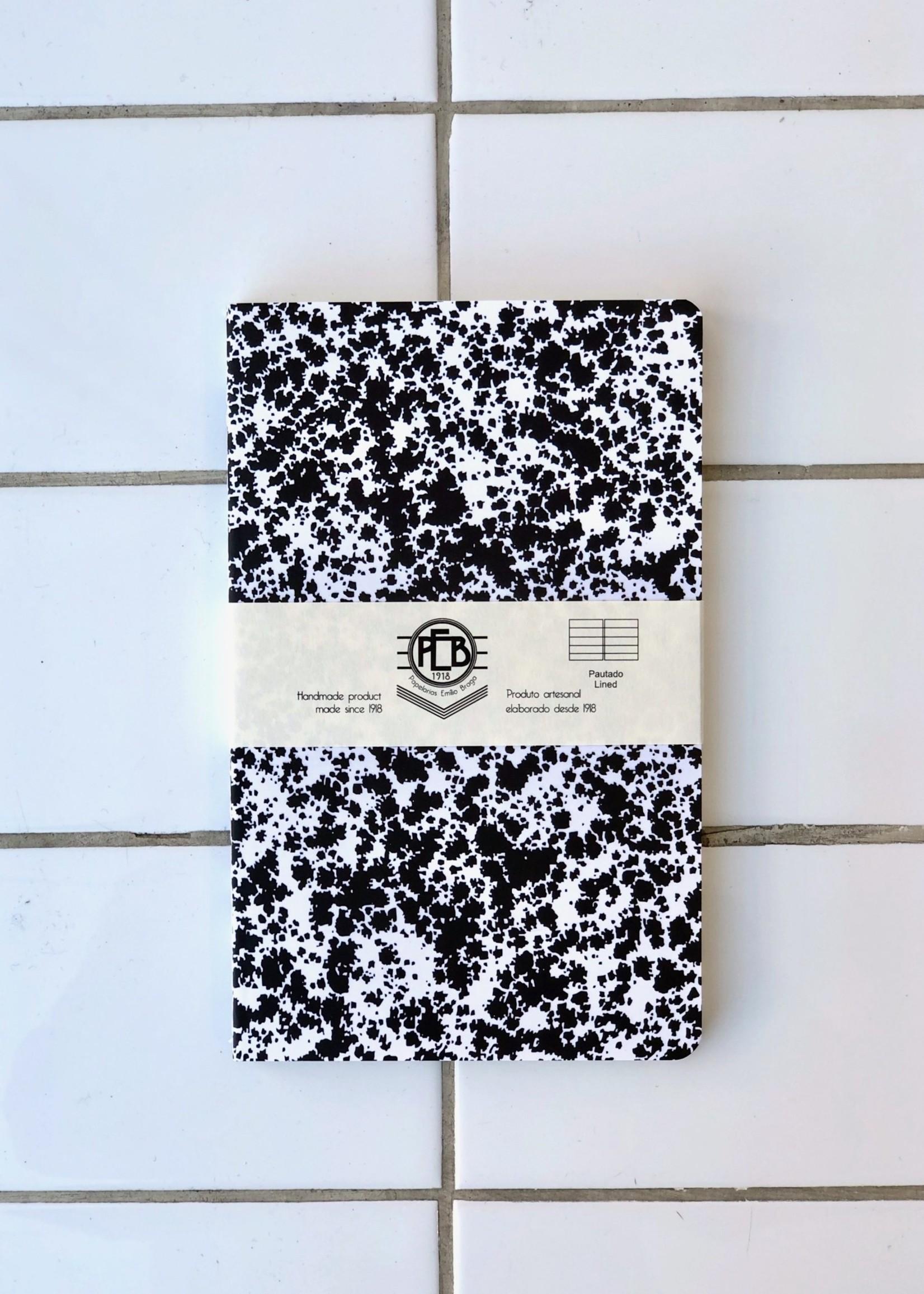 "Emilio Braga Paquet de 3 cahiers ""Cloud Stitched Soft Cover""  A5"