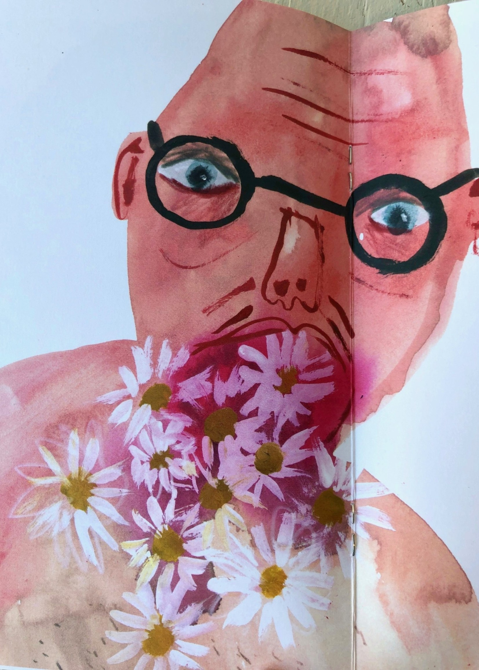 """Faye Moorhouse Zine """"A Catalogue of Things Ingested Issue 2"""""""