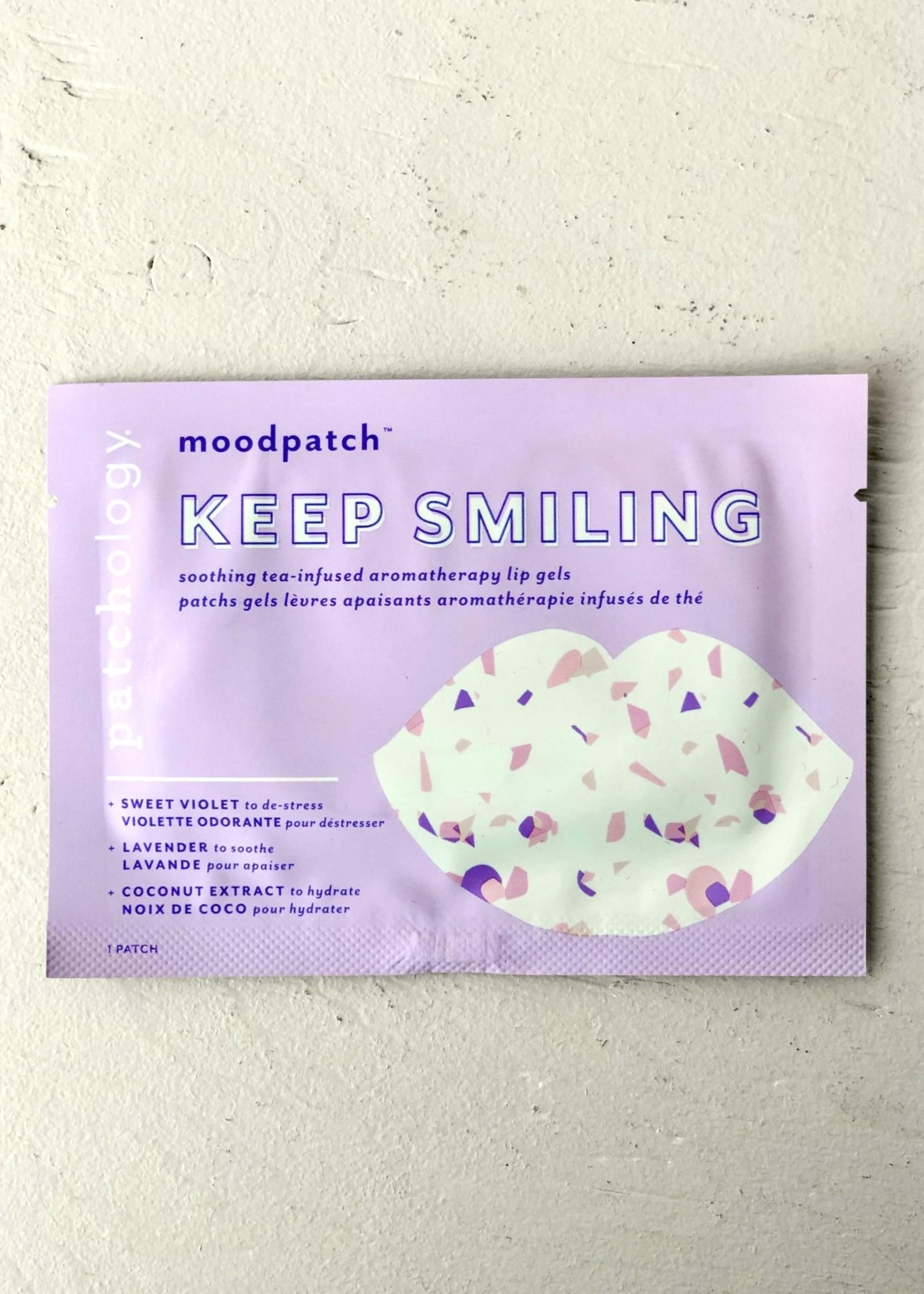 """Patchology Paquet de 5 masque pour lèvres """"keep smiling"""""""