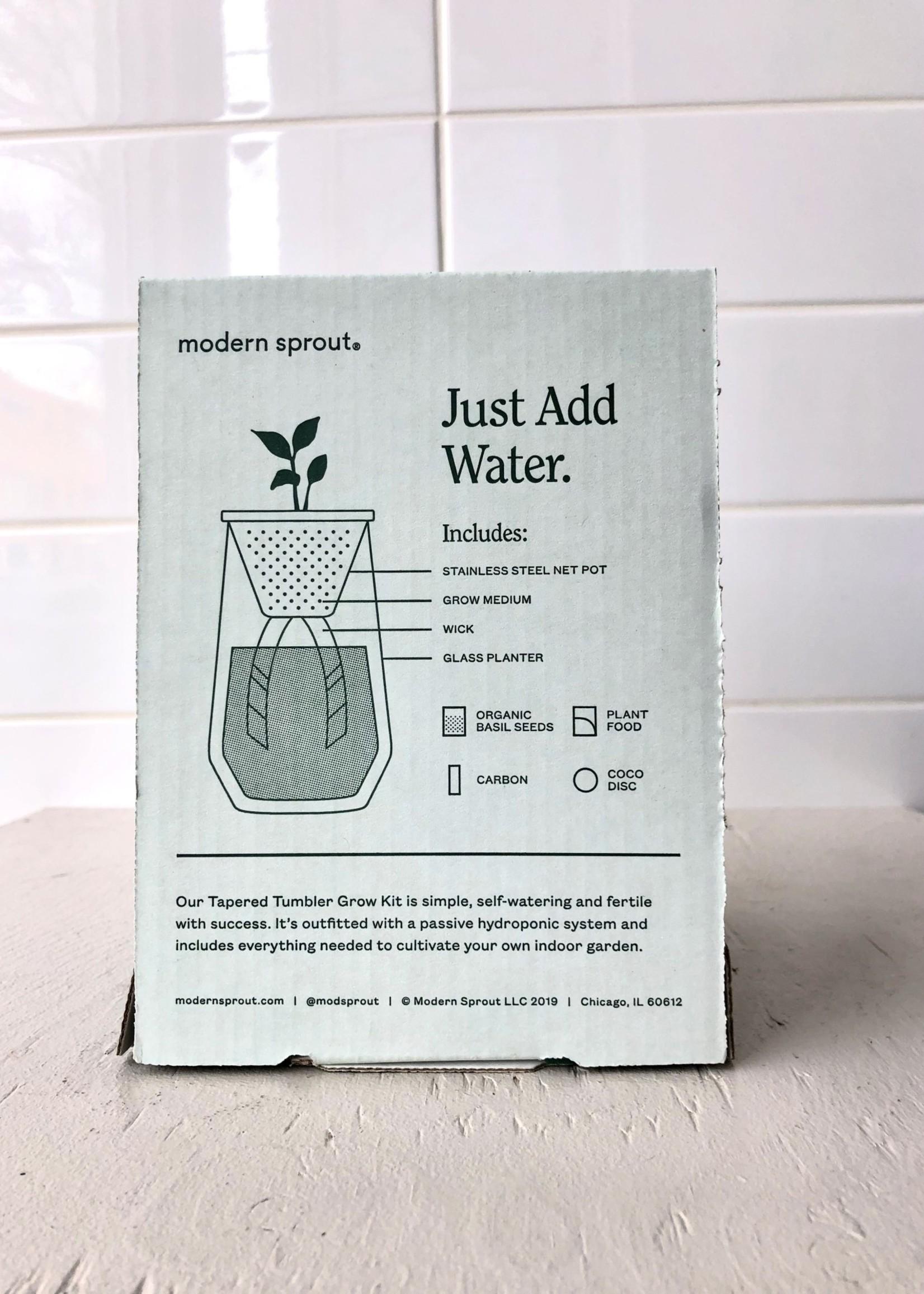 "Modern Sprout Kit de jardin ""Tapered Tumbler"""