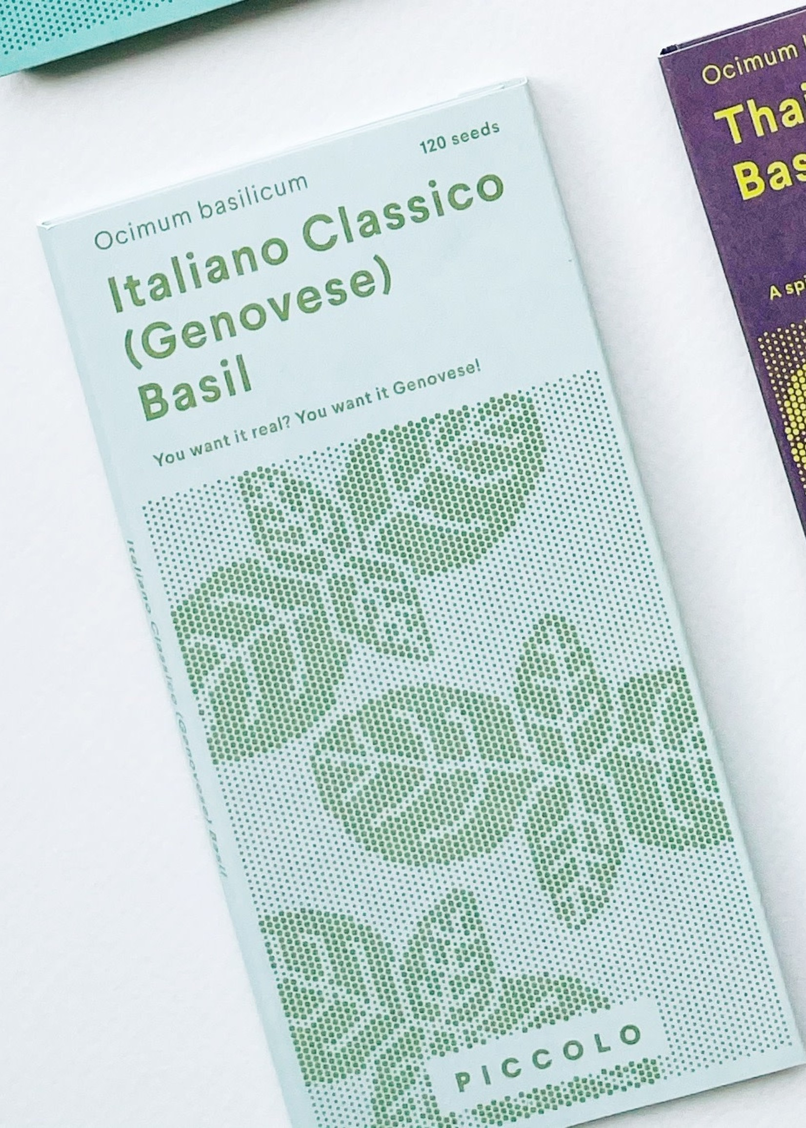 Piccolo Seeds Seed Packets: Herbs