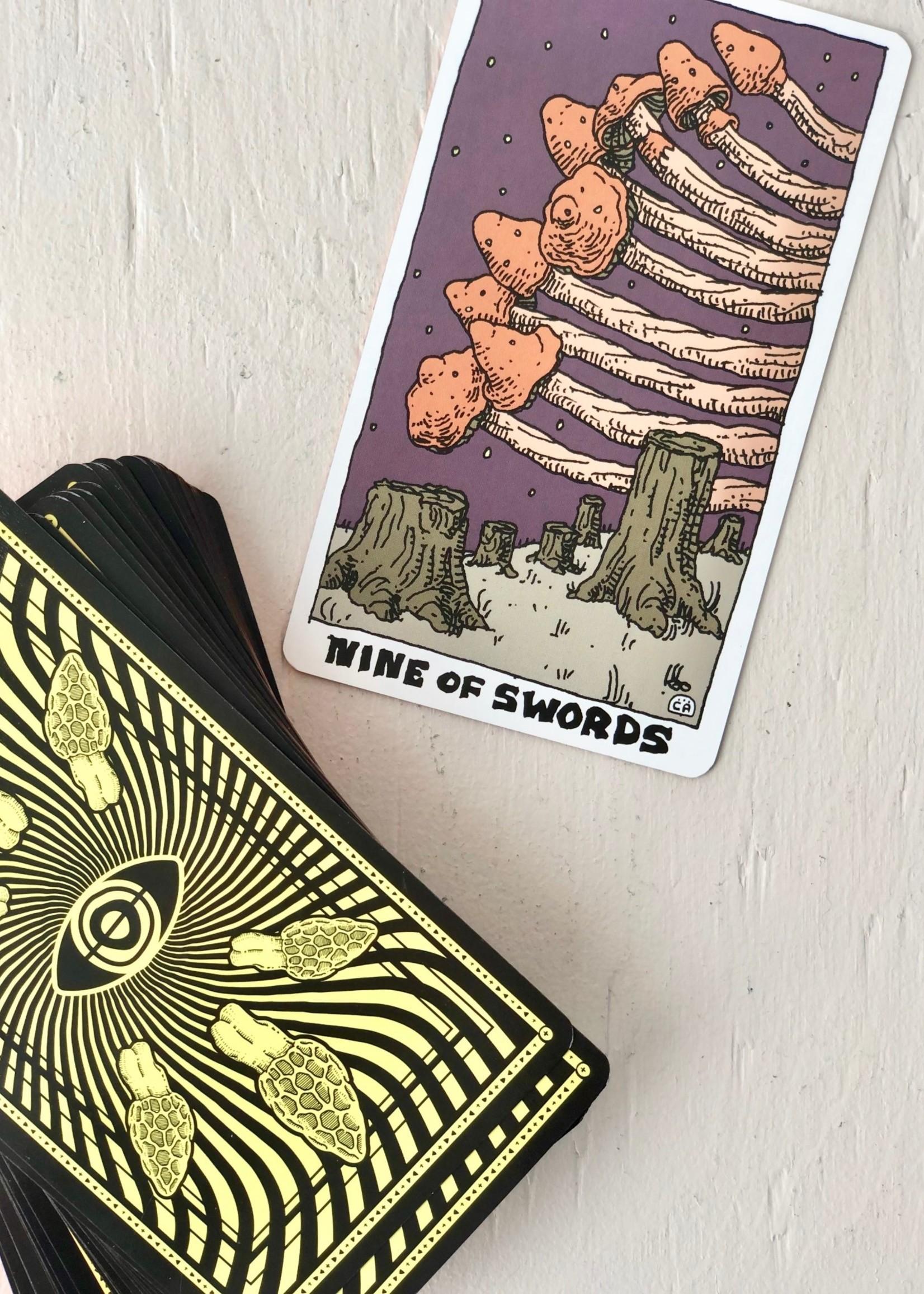 Corvidopolis The Mushroom Deck Tarot Cards