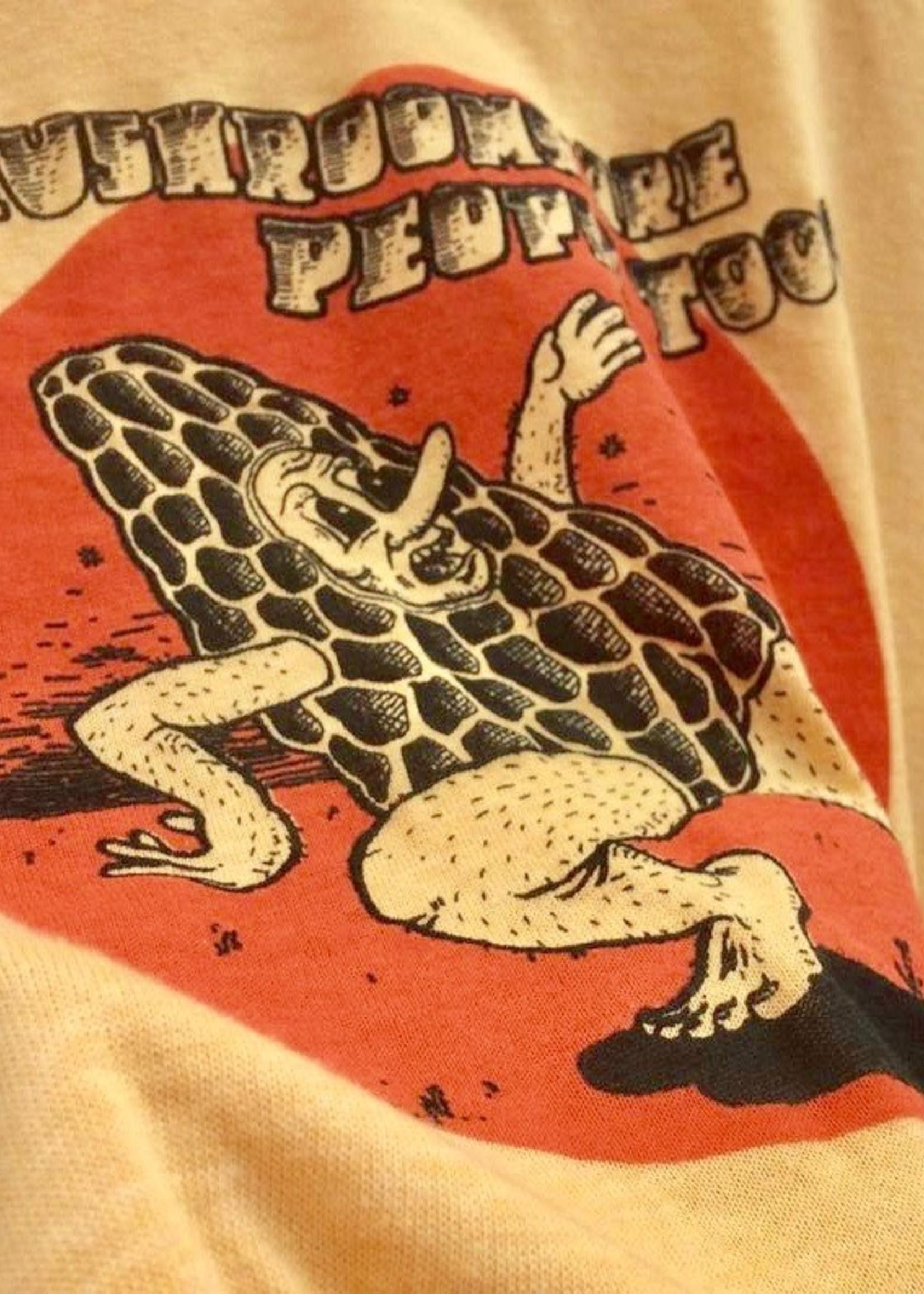 "Corvidopolis T-shirt ""Mushrooms are People"""