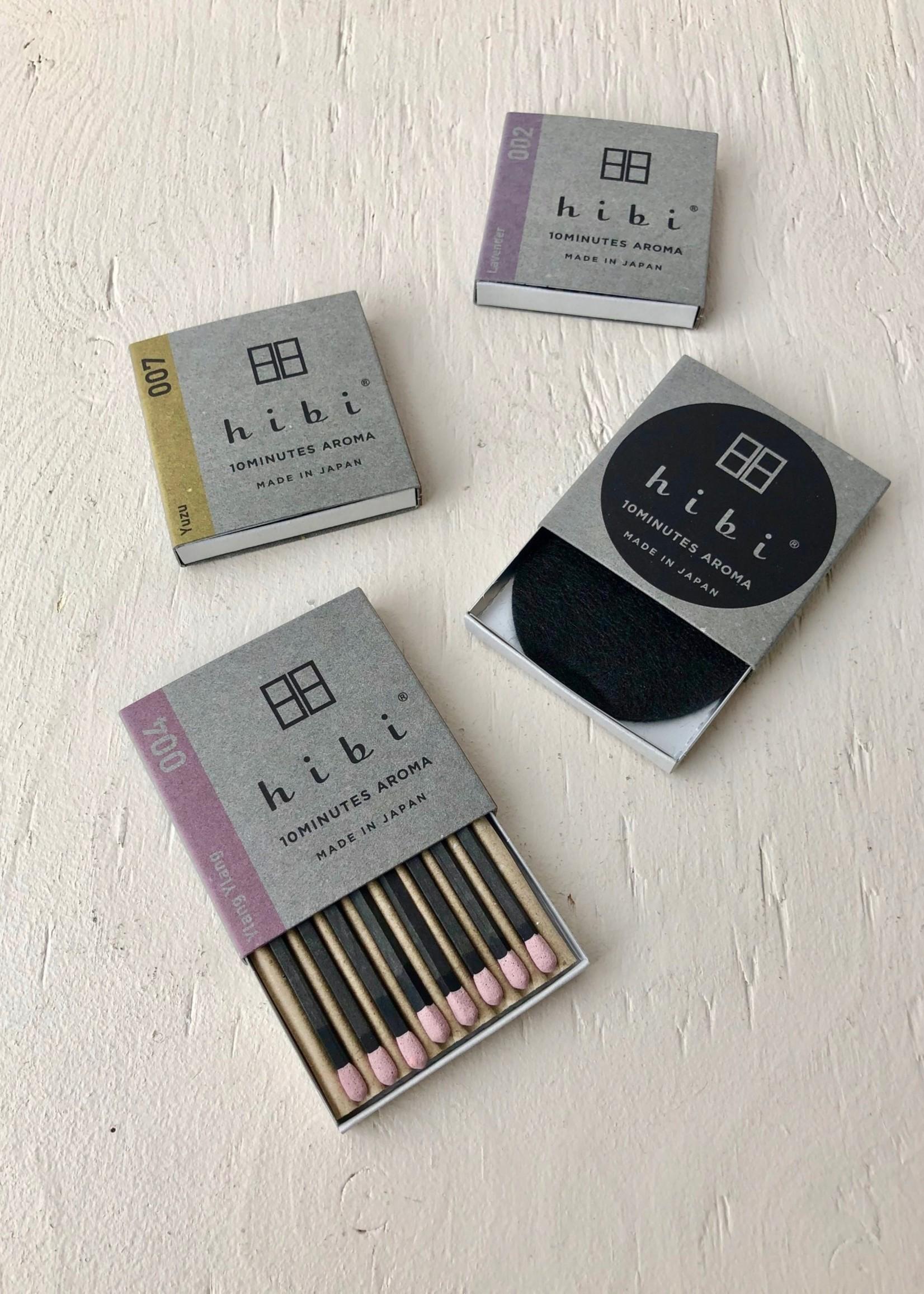 Hibi Incense Match Gift Set by Hibi