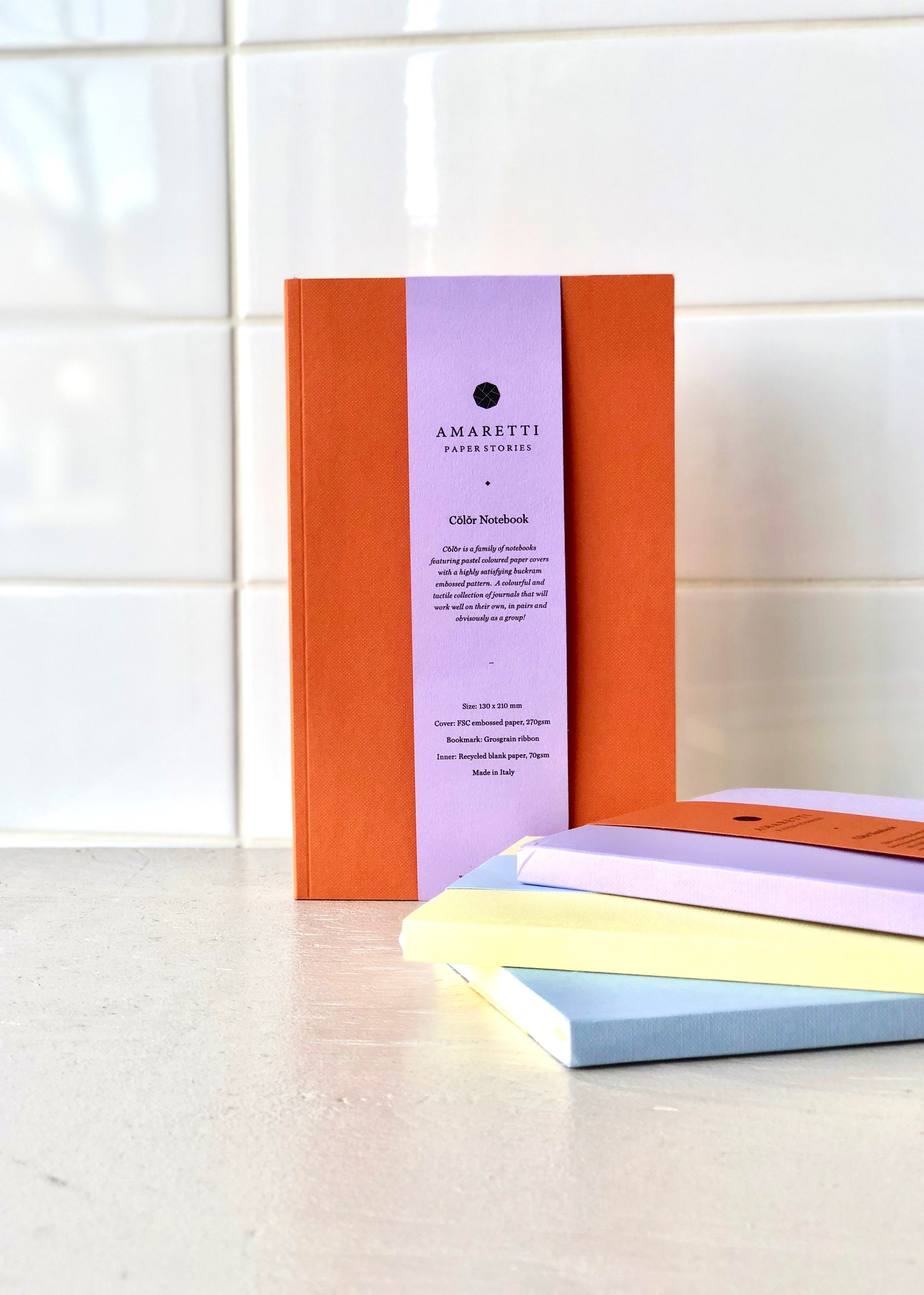 Amaretti Colorful notebooks by Amaretti