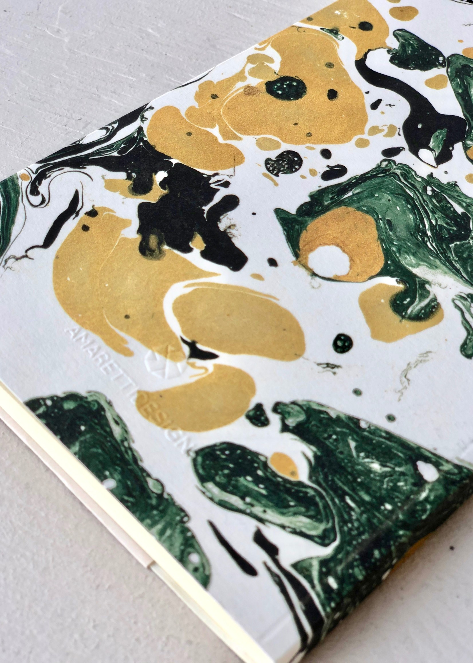 Amaretti Marbled Notebooks by Amaretti