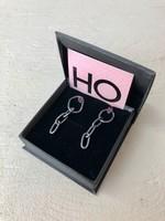 """Elaine Ho """"Pink tourmalines LINK"""" Earrings"""
