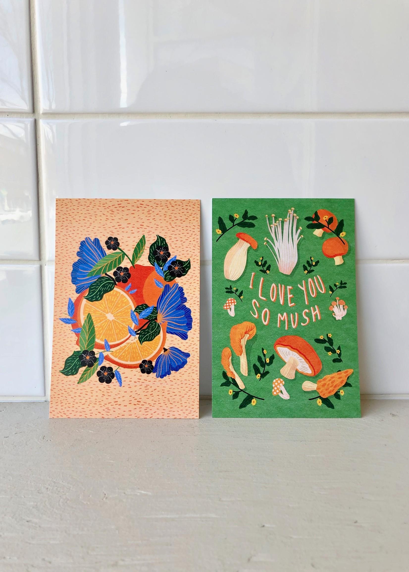Spll Girl Postcards by Spll Girl